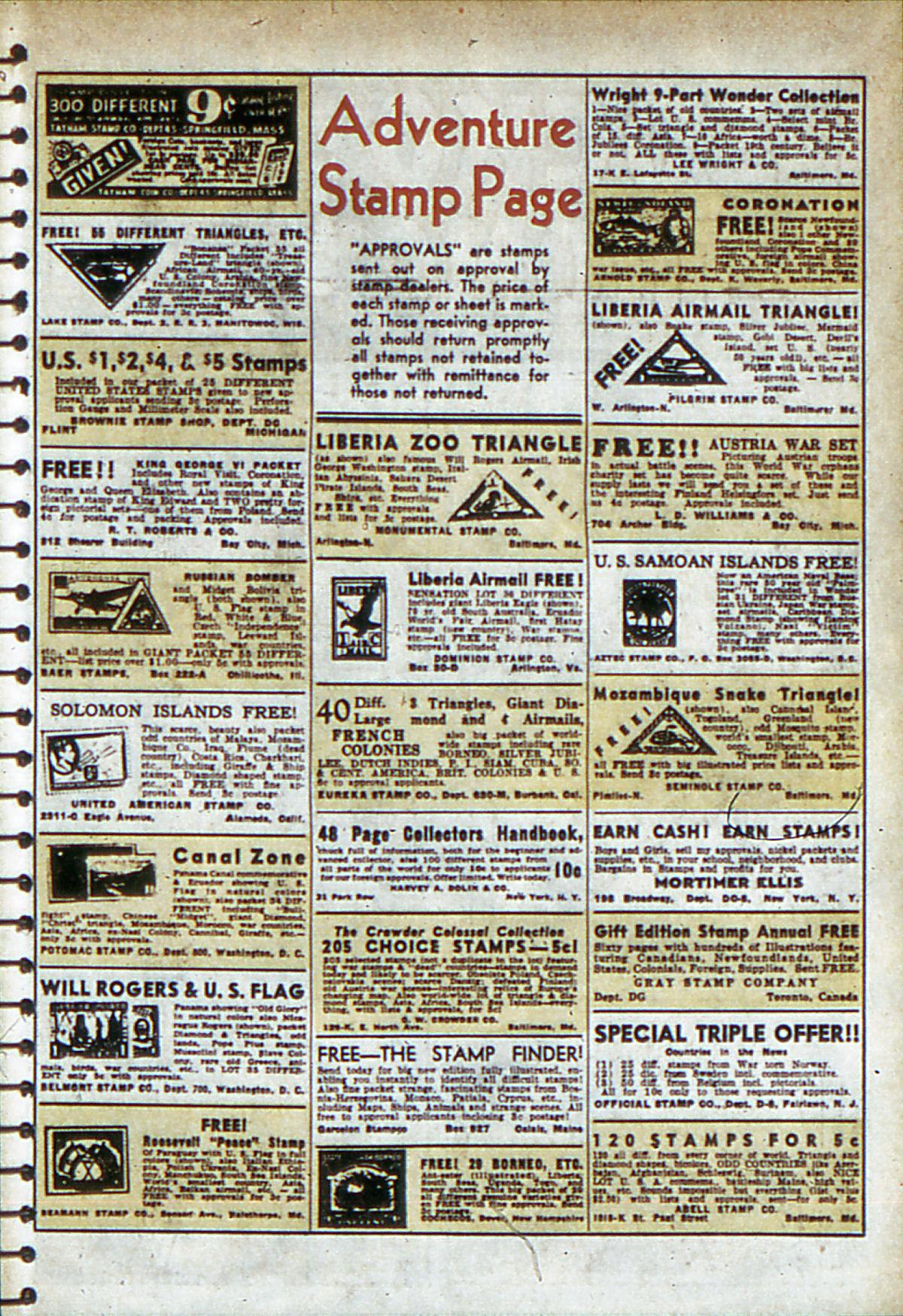 Read online Adventure Comics (1938) comic -  Issue #53 - 48