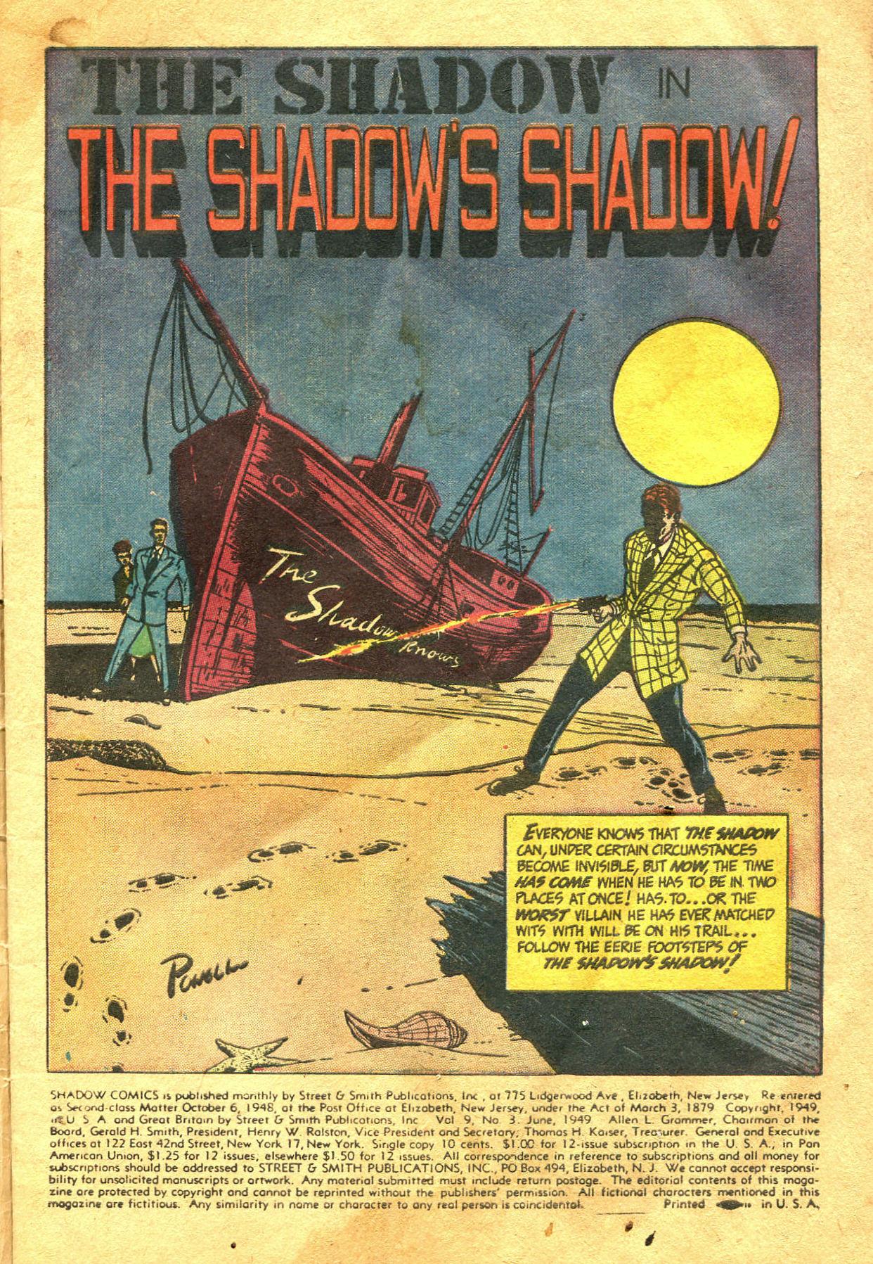 Read online Shadow Comics comic -  Issue #99 - 5