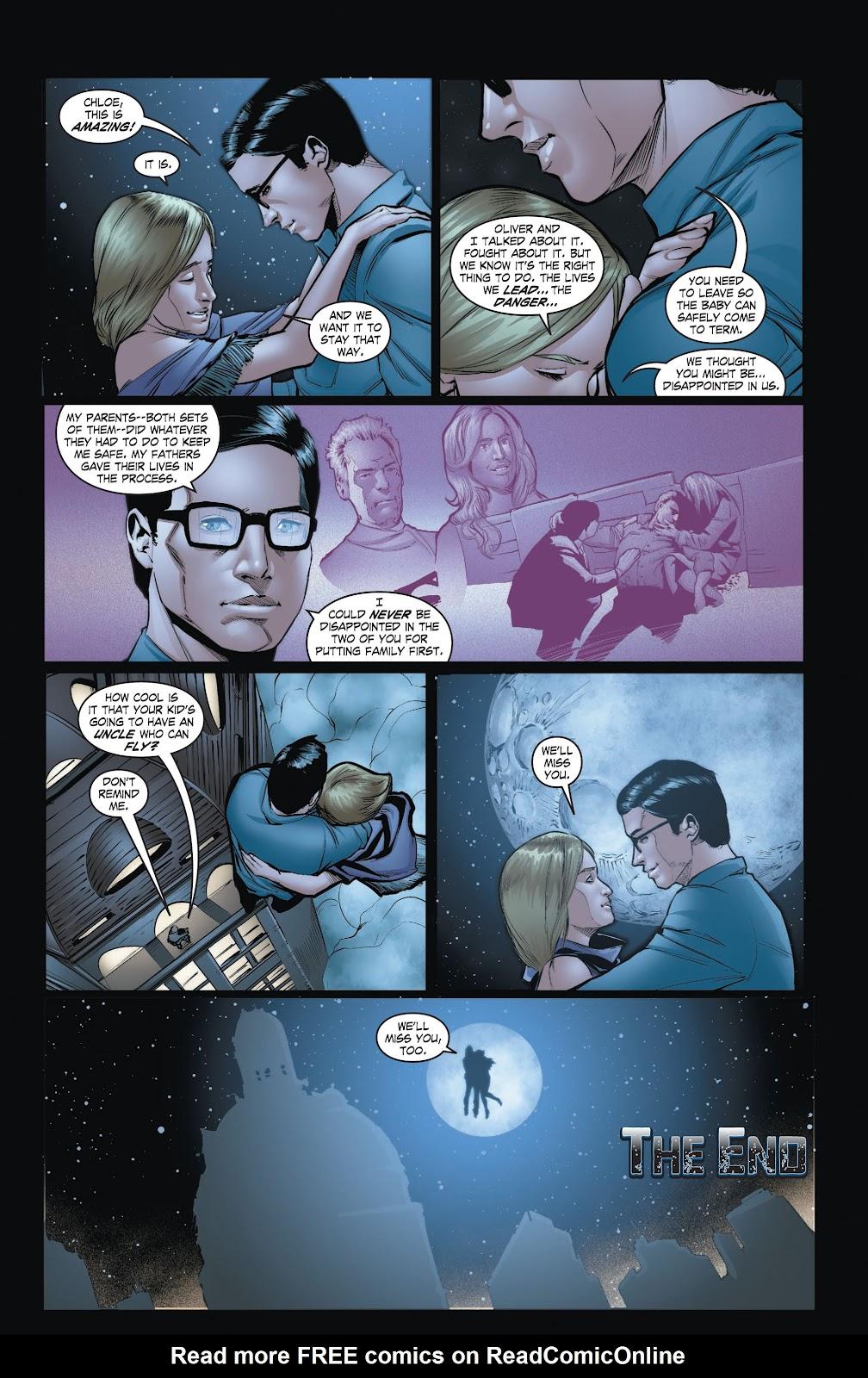 Read online Smallville Season 11 [II] comic -  Issue # TPB 3 - 132