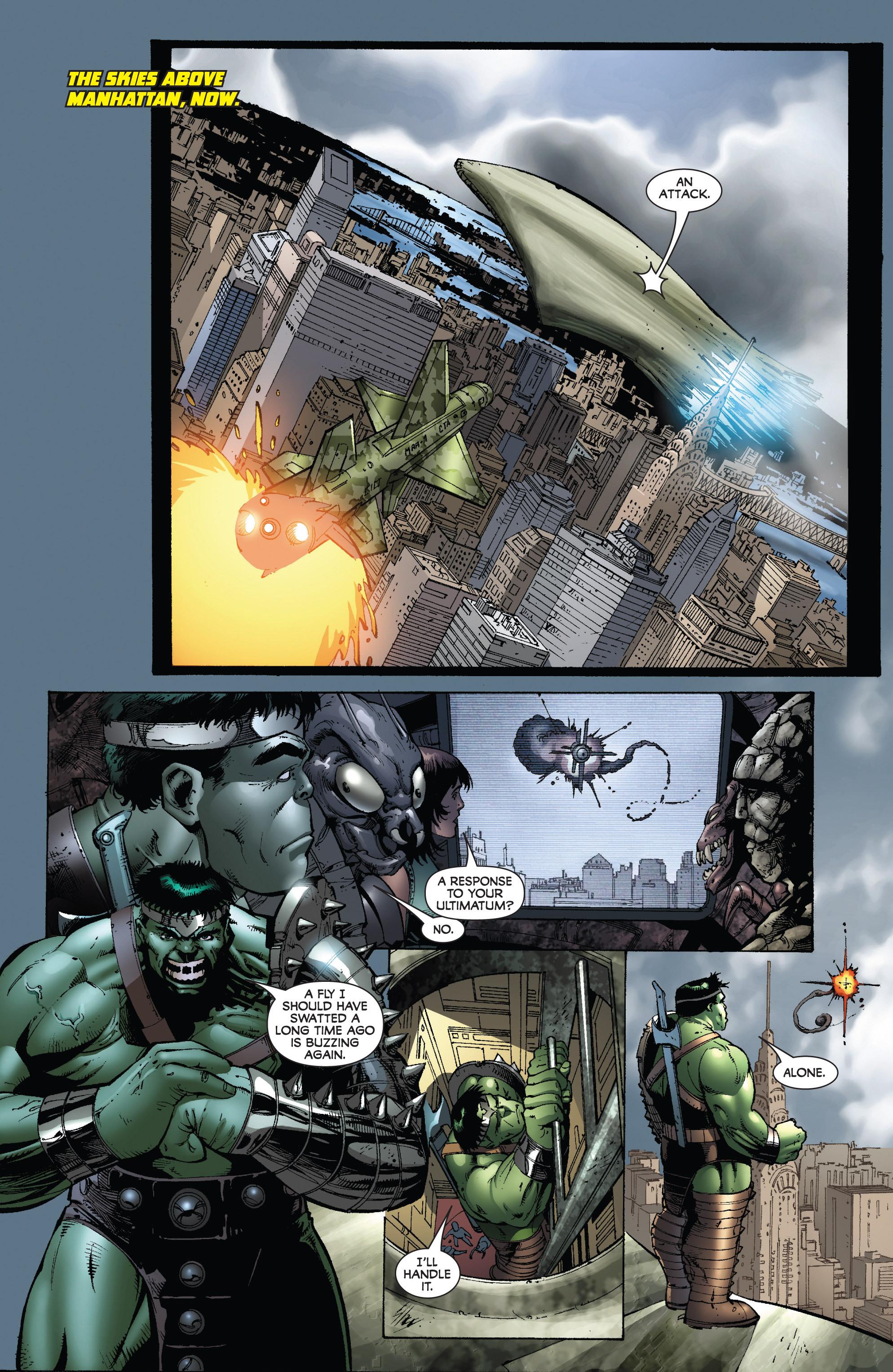 Read online World War Hulk: Gamma Corps comic -  Issue #3 - 7