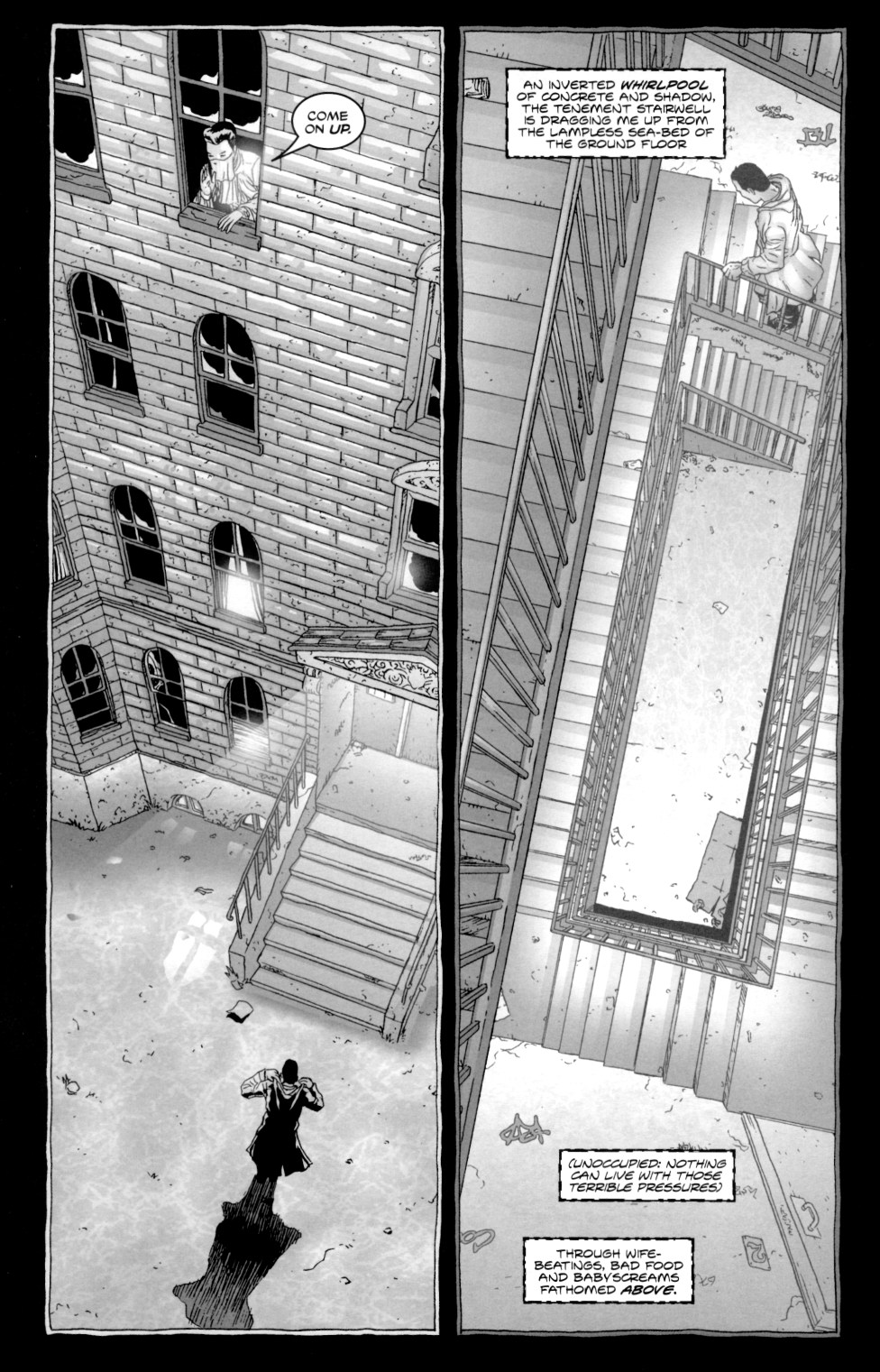 Read online Alan Moore's The Courtyard comic -  Issue #2 - 6