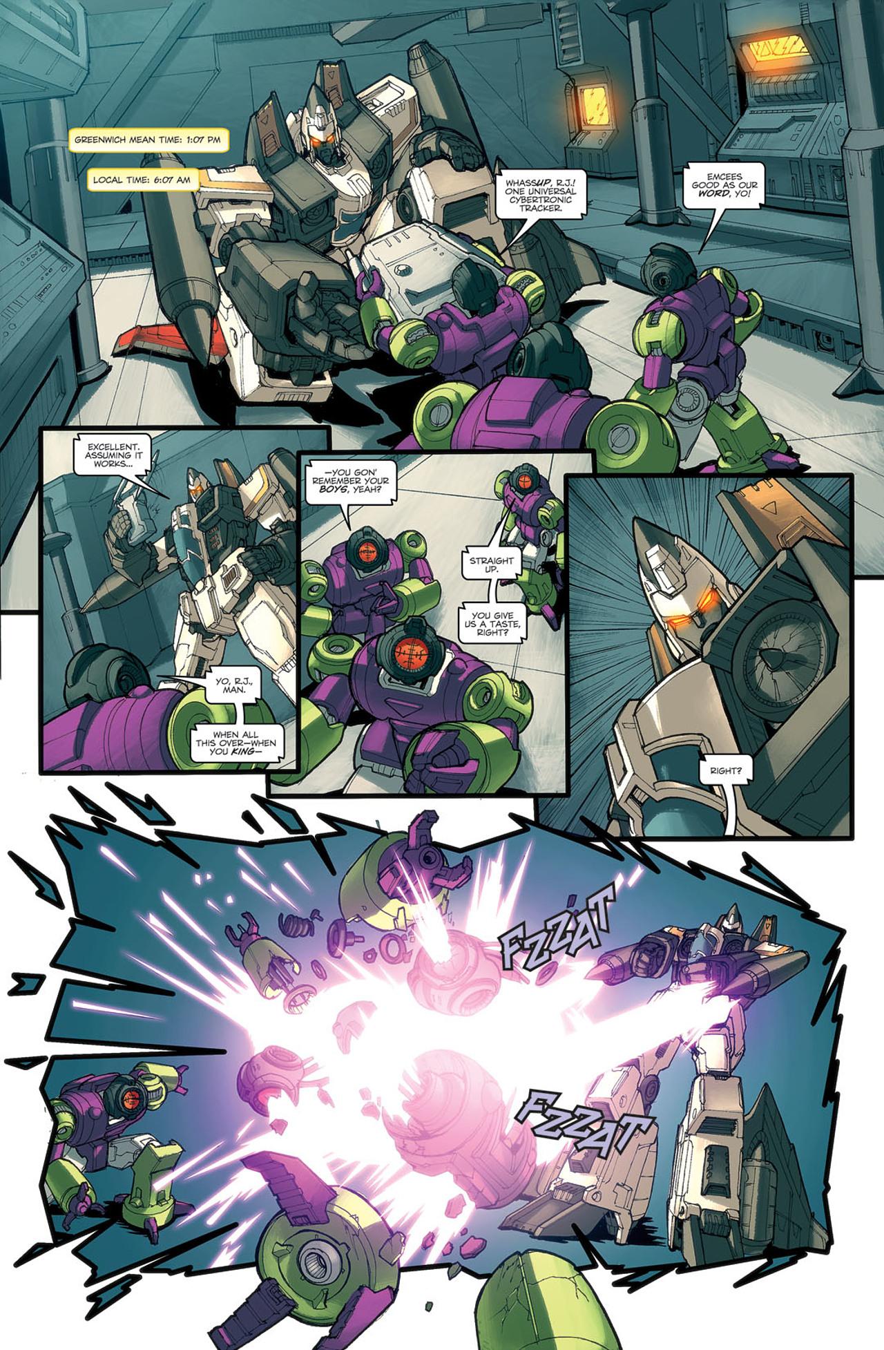 Read online Transformers Spotlight: Ramjet comic -  Issue # Full - 17