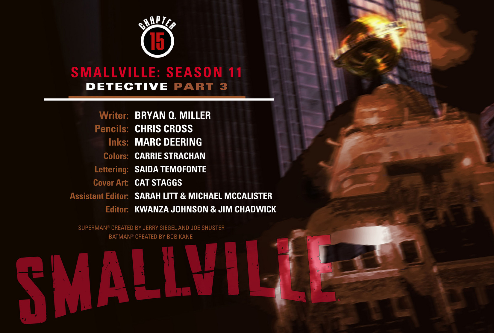 Read online Smallville: Season 11 comic -  Issue #15 - 2
