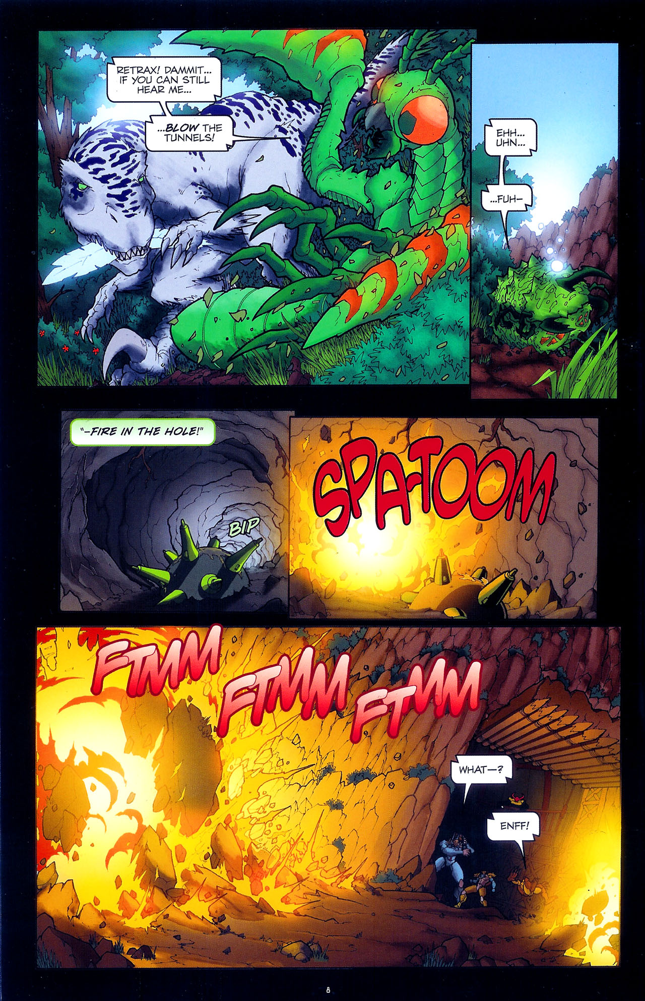 Read online Transformers: Beast Wars: The Ascending comic -  Issue #1 - 10
