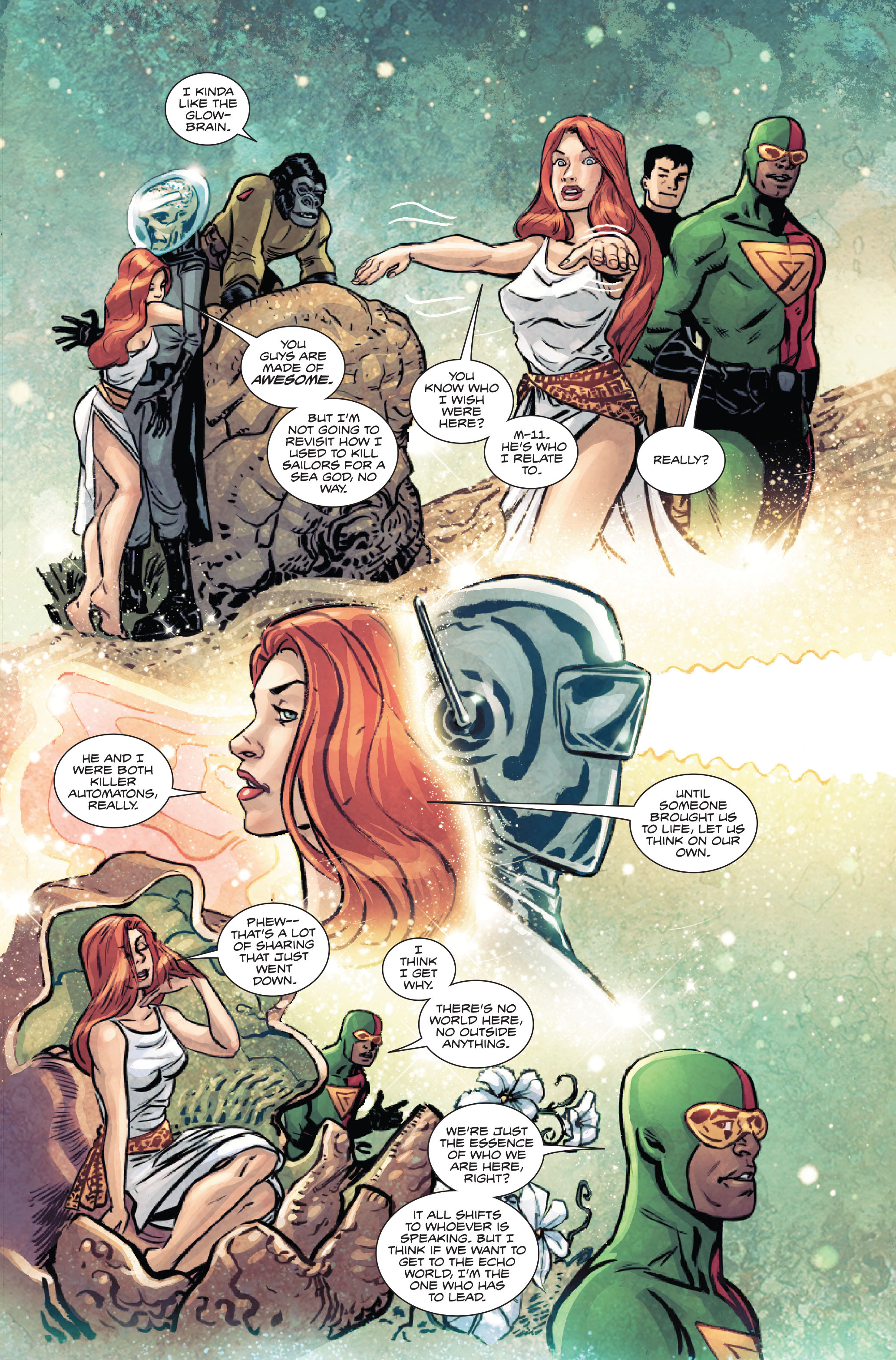 Read online Atlas comic -  Issue #5 - 12