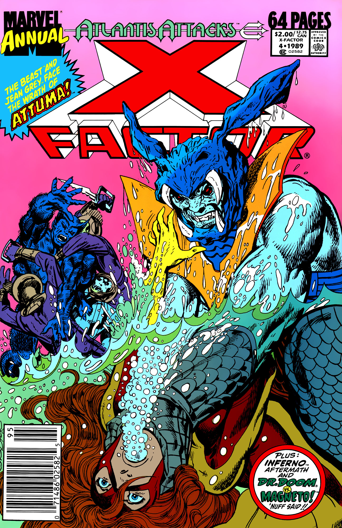 Read online X-Factor (1986) comic -  Issue # _ Annual 4 - 1