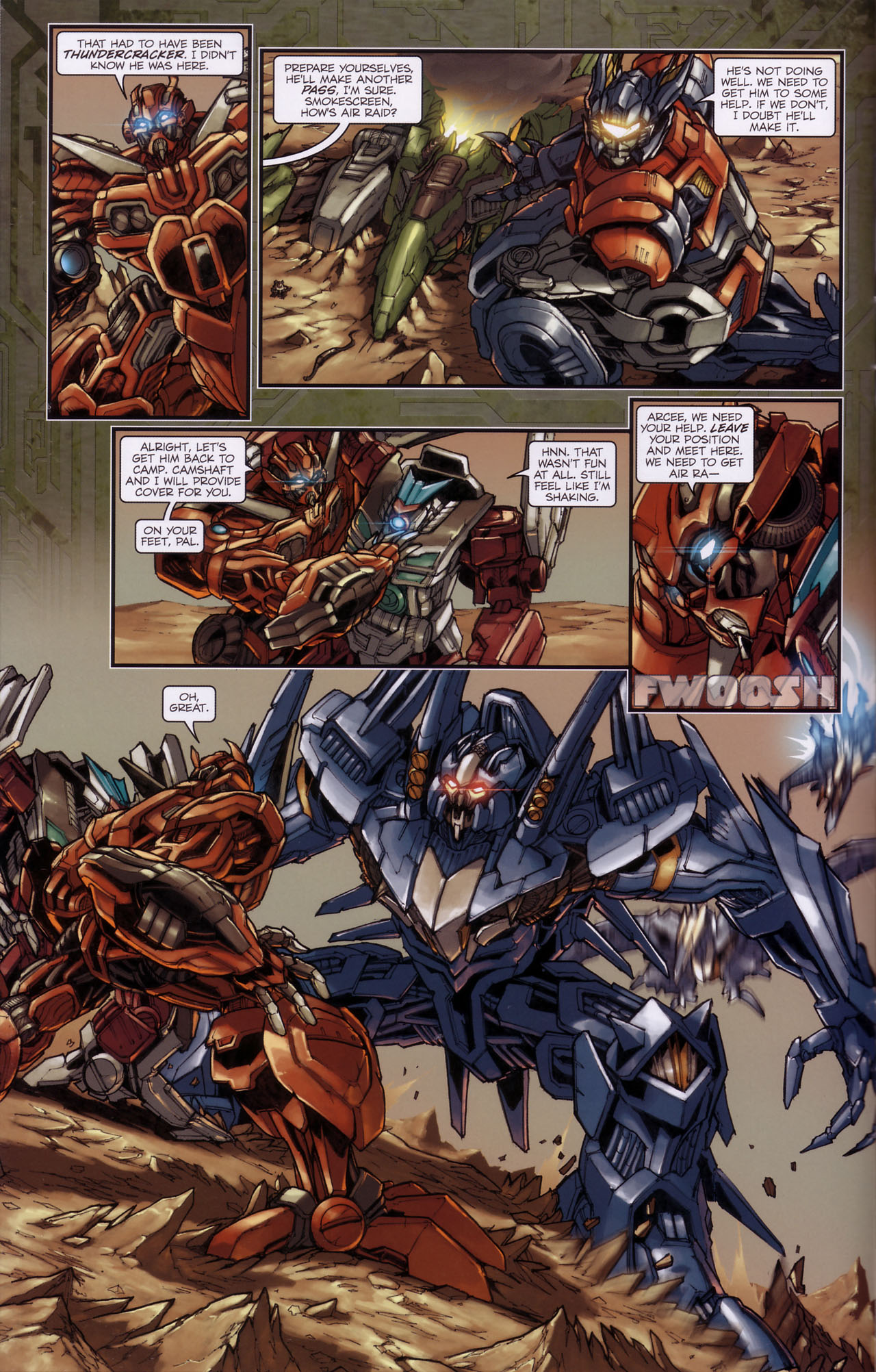 Read online Transformers: The Reign of Starscream comic -  Issue #3 - 9