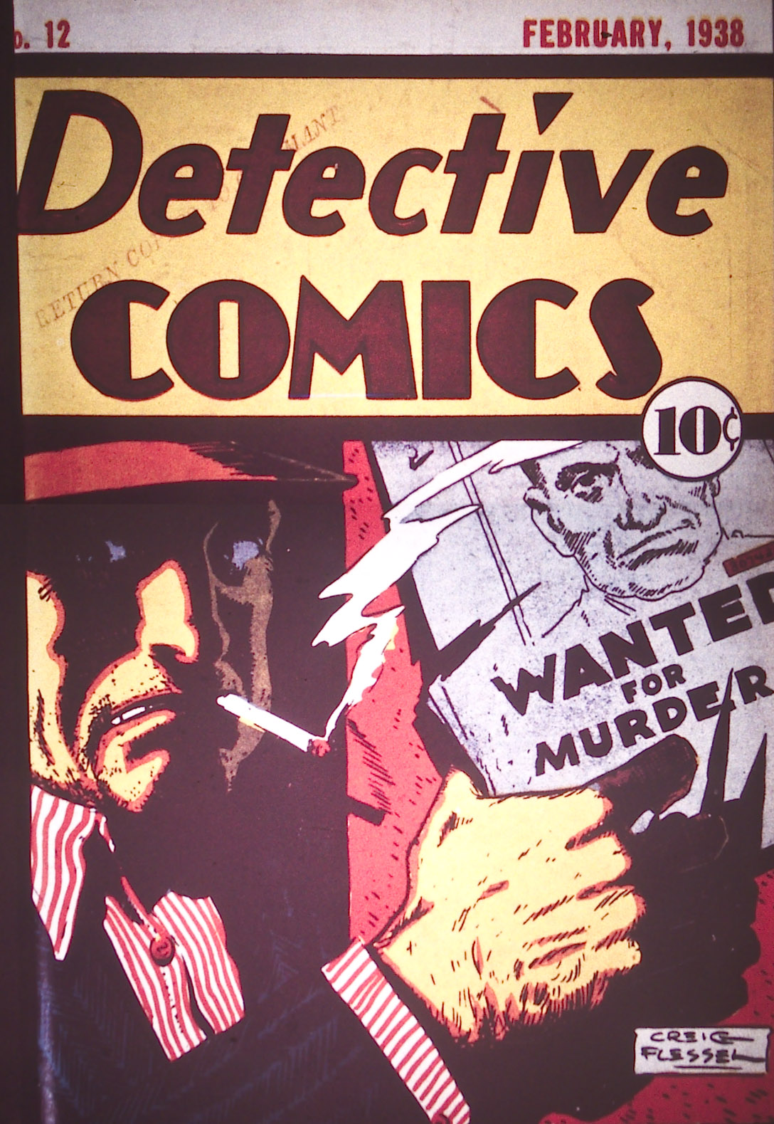 Detective Comics (1937) 12 Page 1