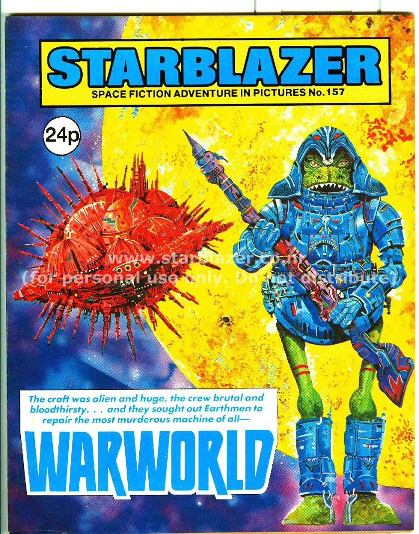 Starblazer issue 157 - Page 1