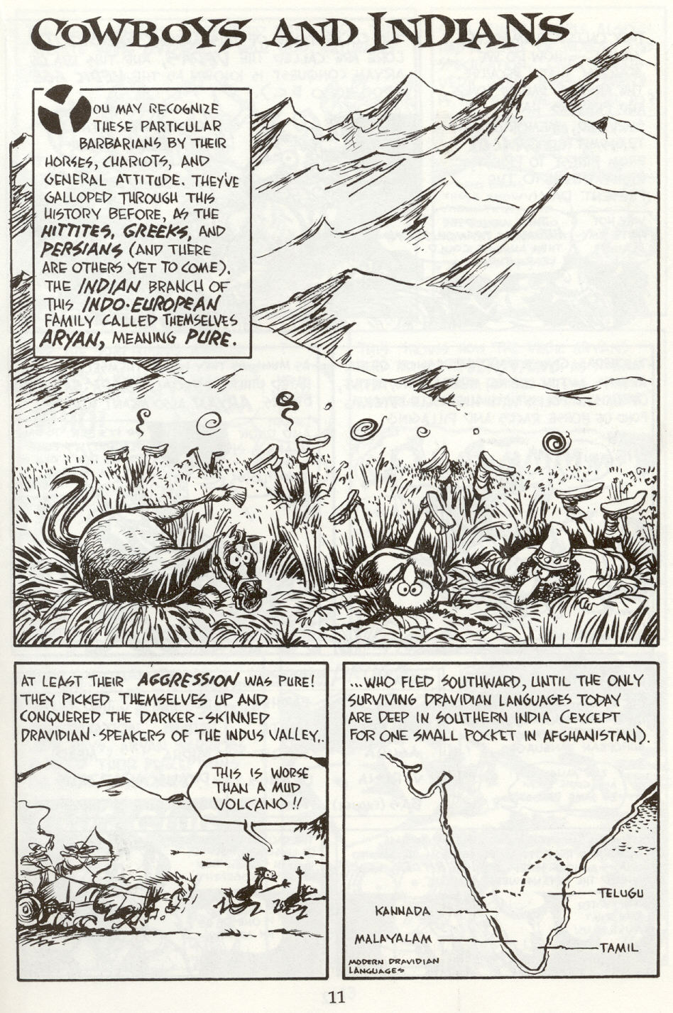 Read online The Cartoon History of the Universe comic -  Issue #8 - 14