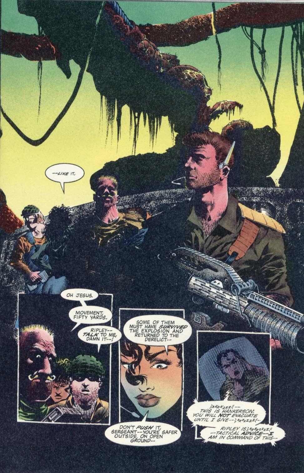 Read online Aliens: Earth War comic -  Issue #1 - 17