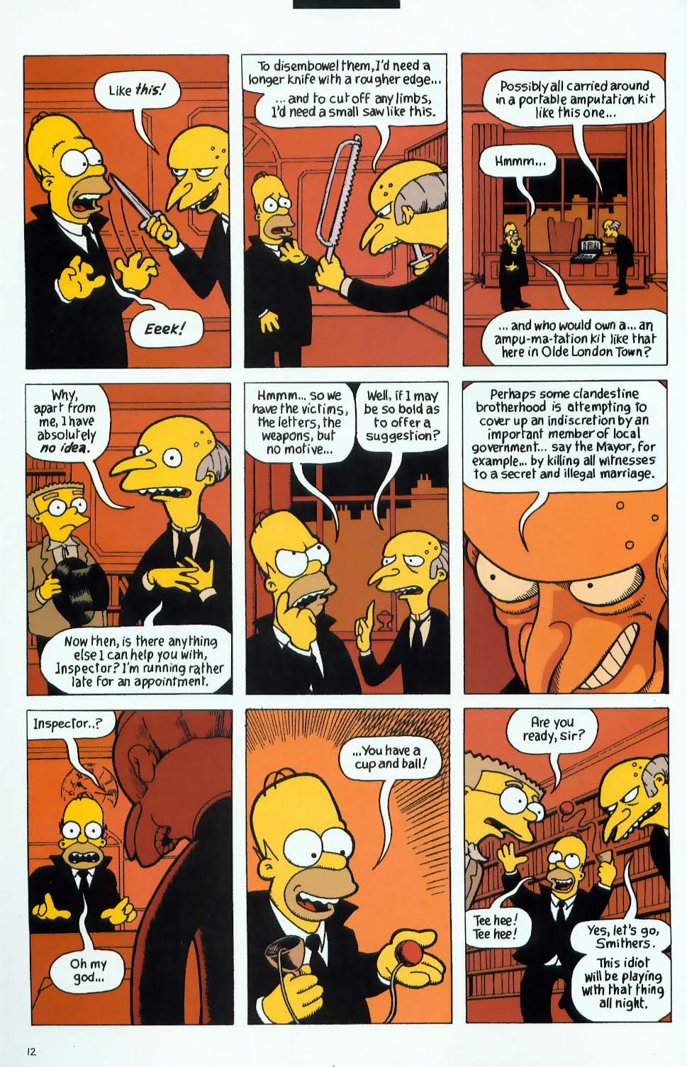 Read online Treehouse of Horror comic -  Issue #9 - 44