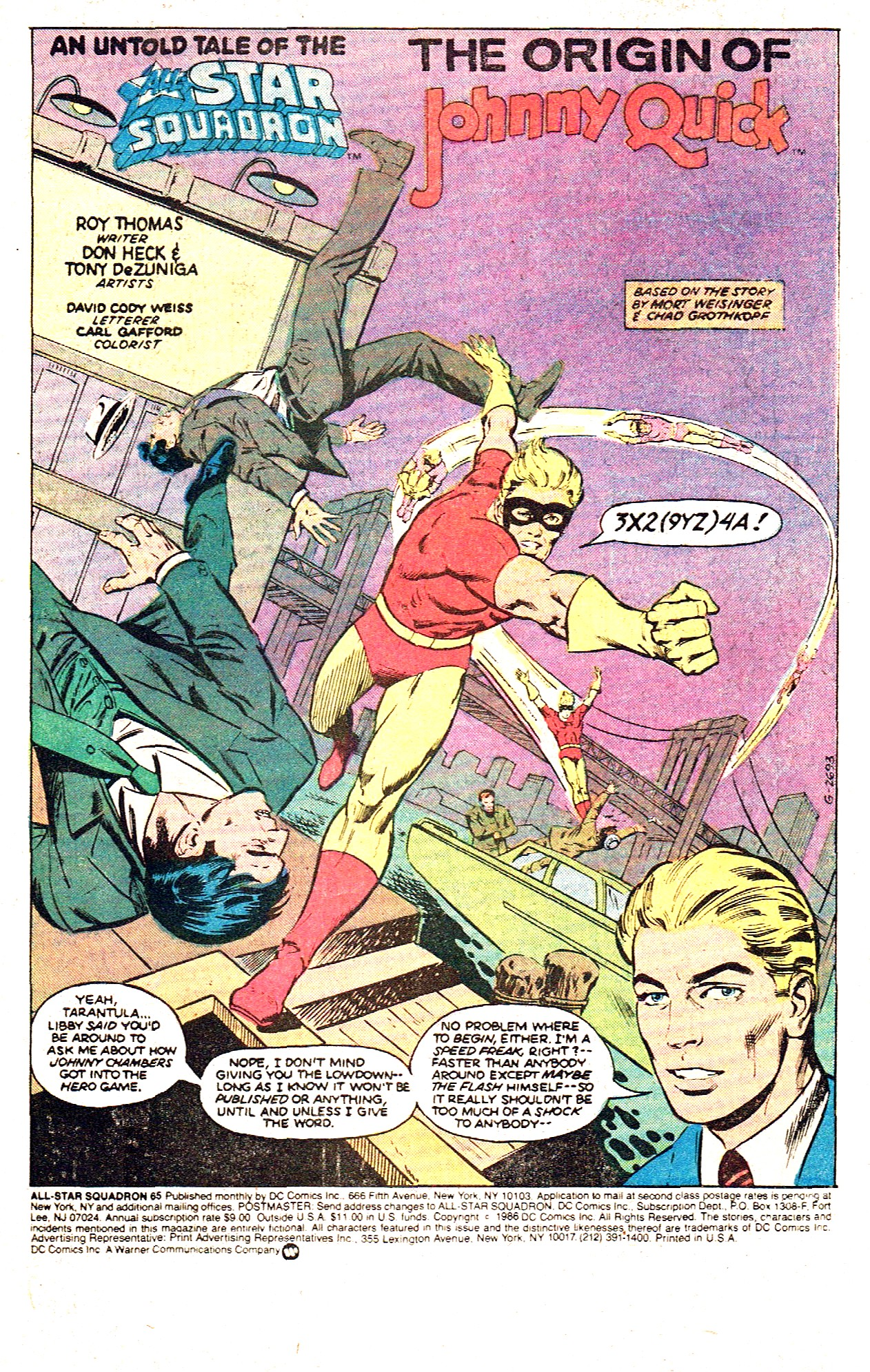 Read online All-Star Squadron comic -  Issue #65 - 3
