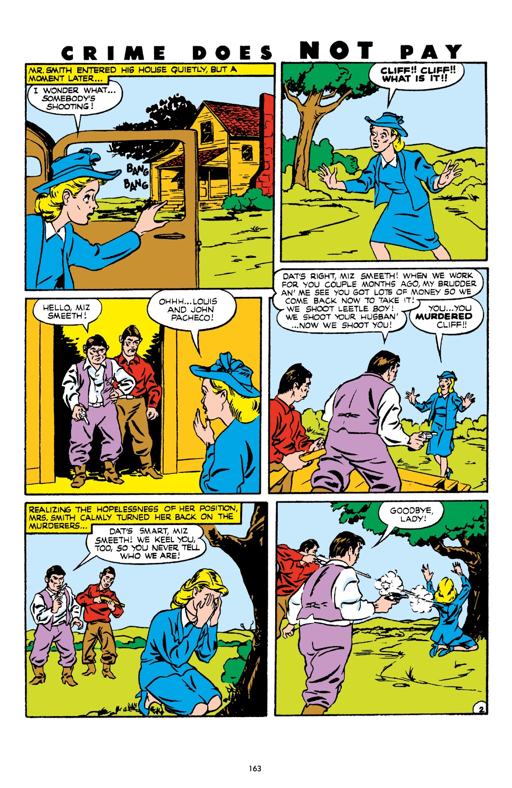 Read online Crime Does Not Pay Archives comic -  Issue # TPB 8 (Part 2) - 64
