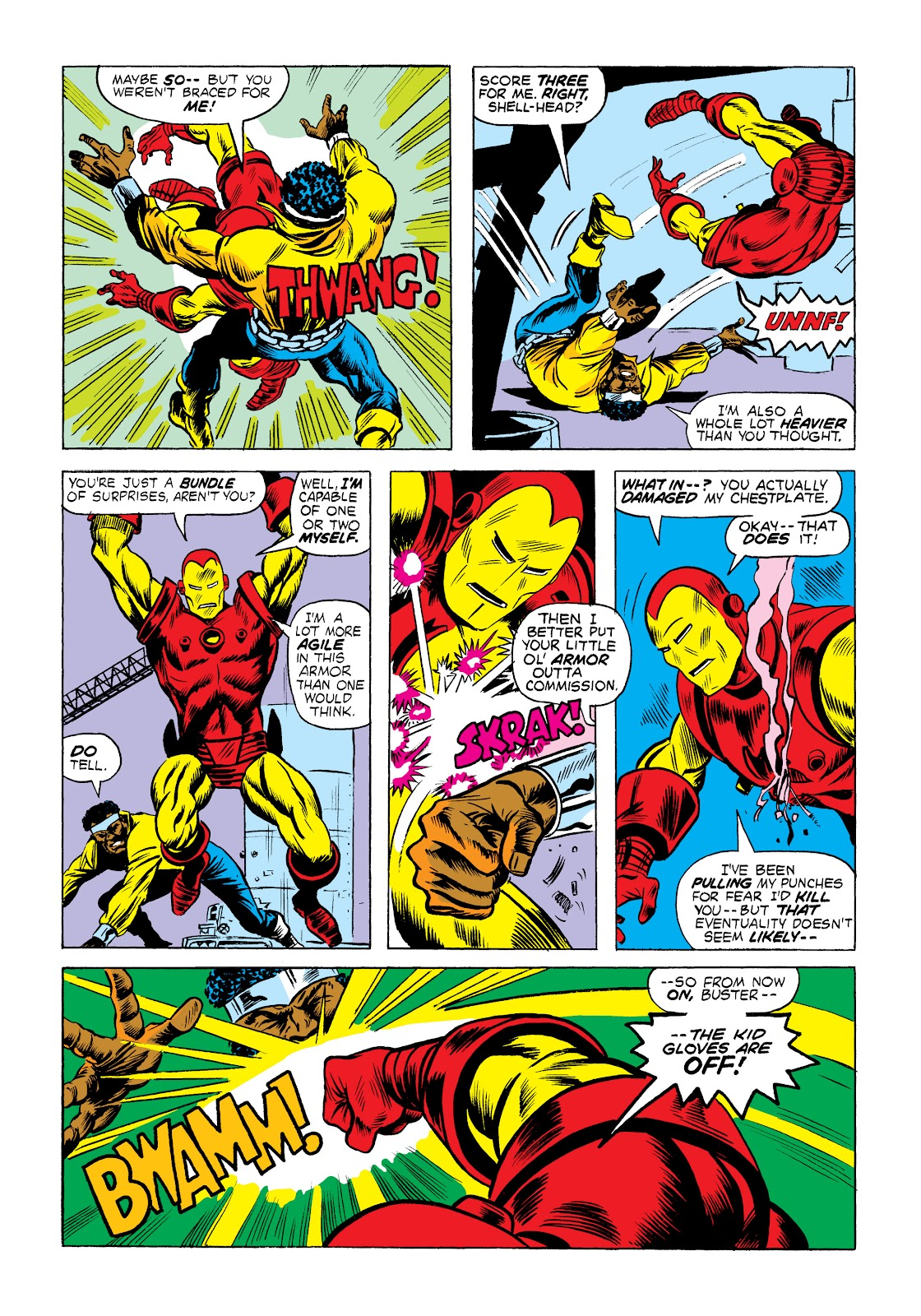 Read online Marvel Masterworks: Luke Cage, Power Man comic -  Issue # TPB 2 (Part 1) - 22