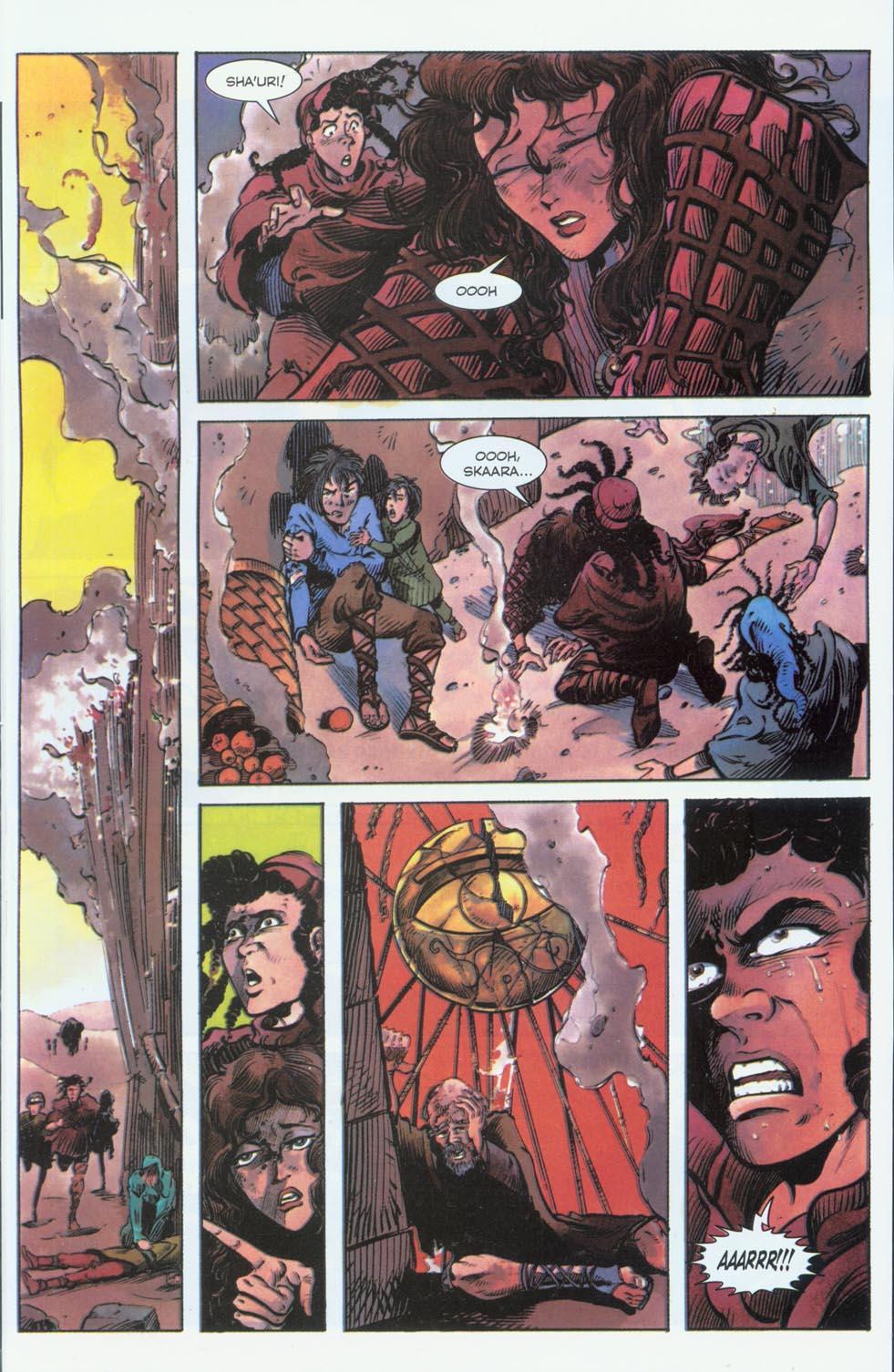 Read online Stargate comic -  Issue #3 - 11