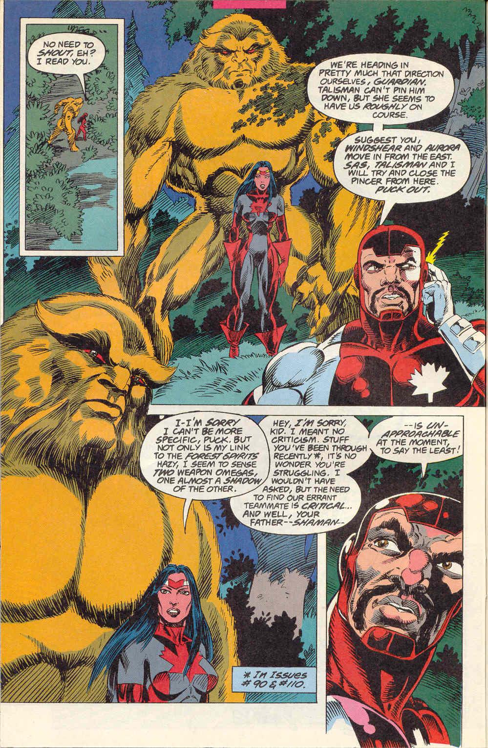 Read online Alpha Flight (1983) comic -  Issue #115 - 7