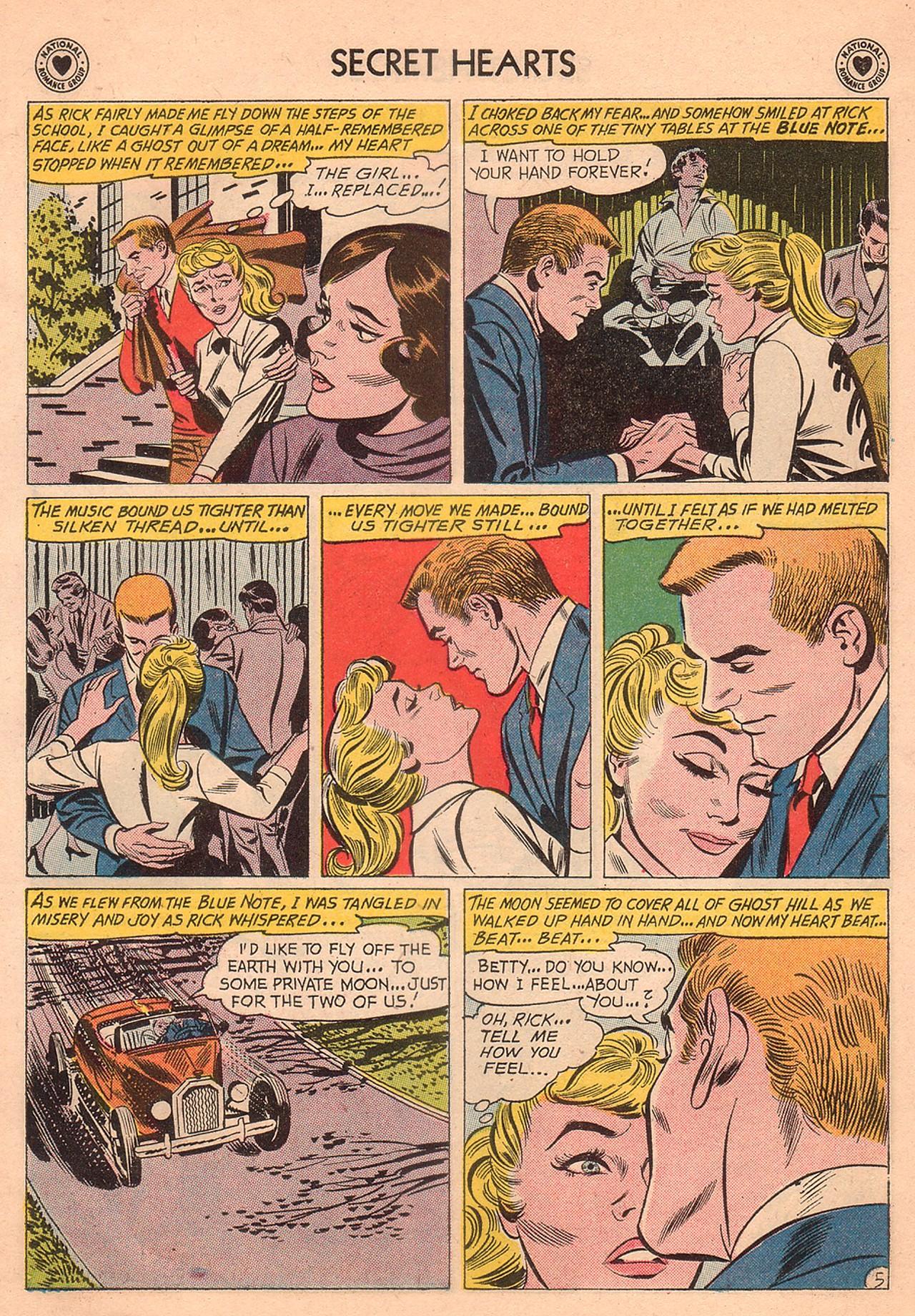 Read online Secret Hearts comic -  Issue #74 - 31