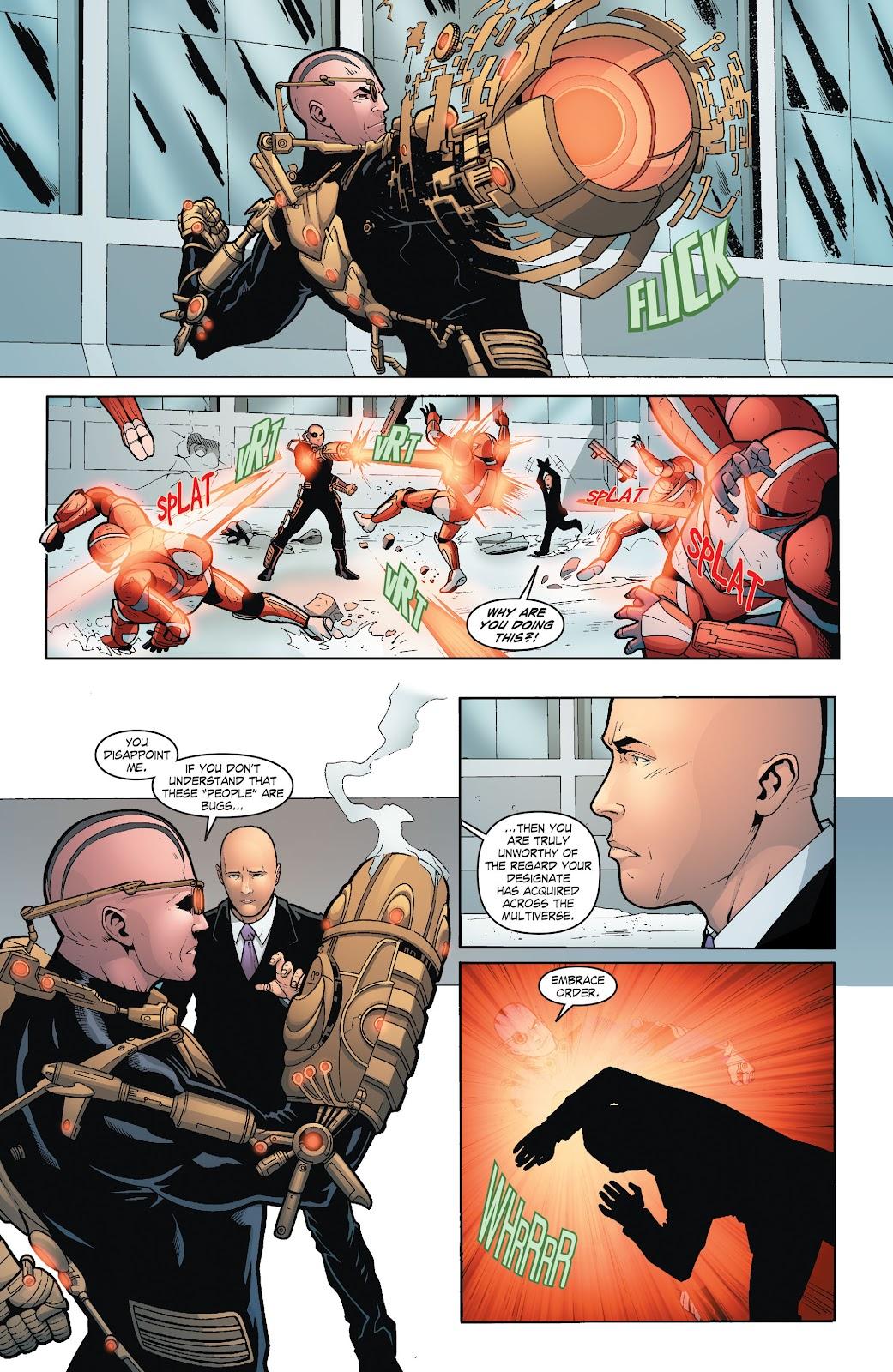 Read online Smallville Season 11 [II] comic -  Issue # TPB 6 - 107