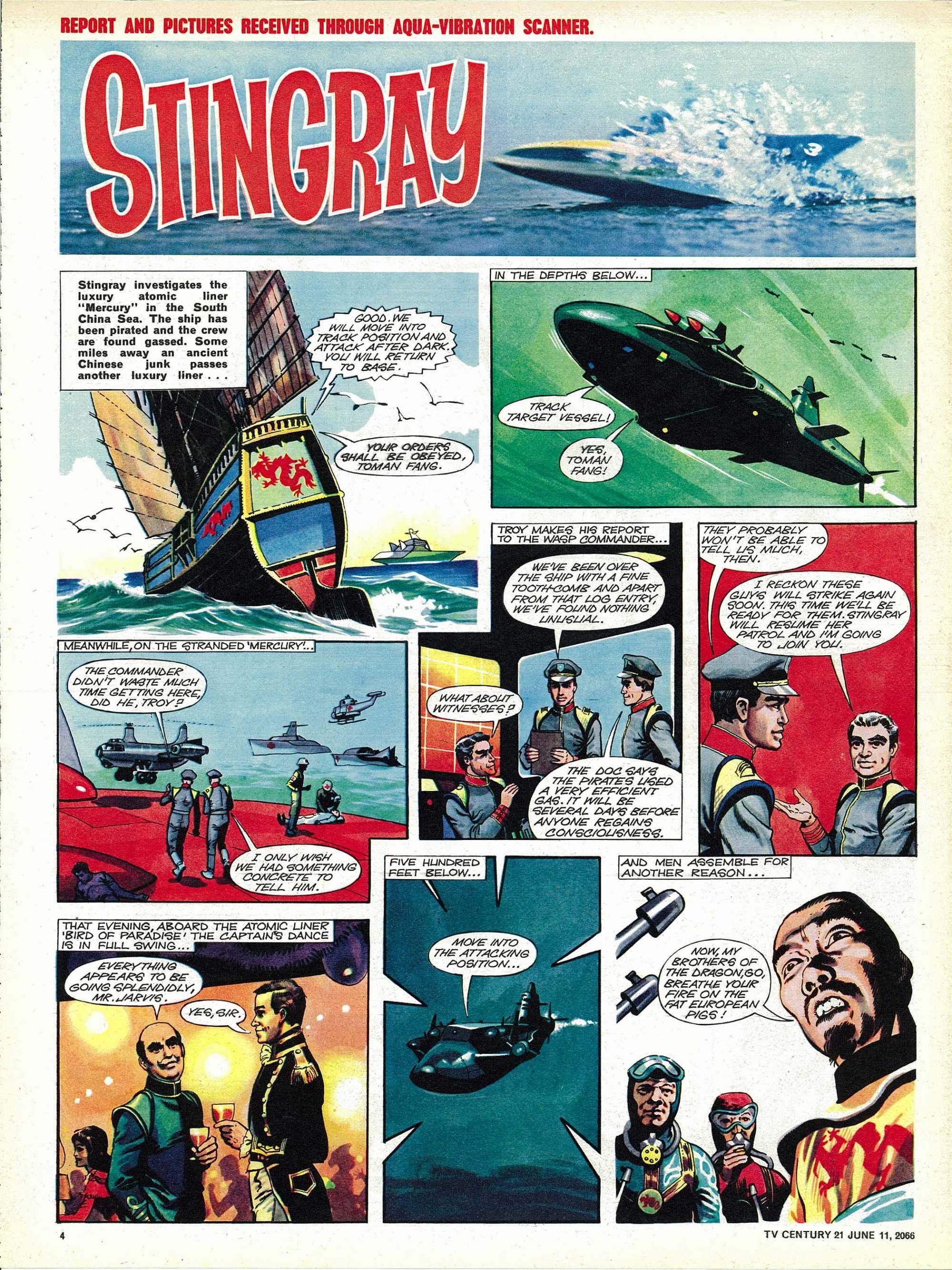 Read online TV Century 21 (TV 21) comic -  Issue #73 - 4