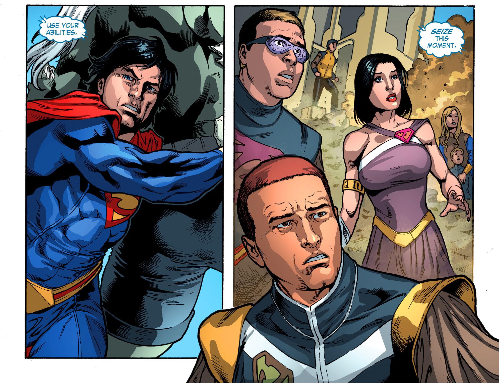 Read online Smallville: Season 11 comic -  Issue #52 - 16