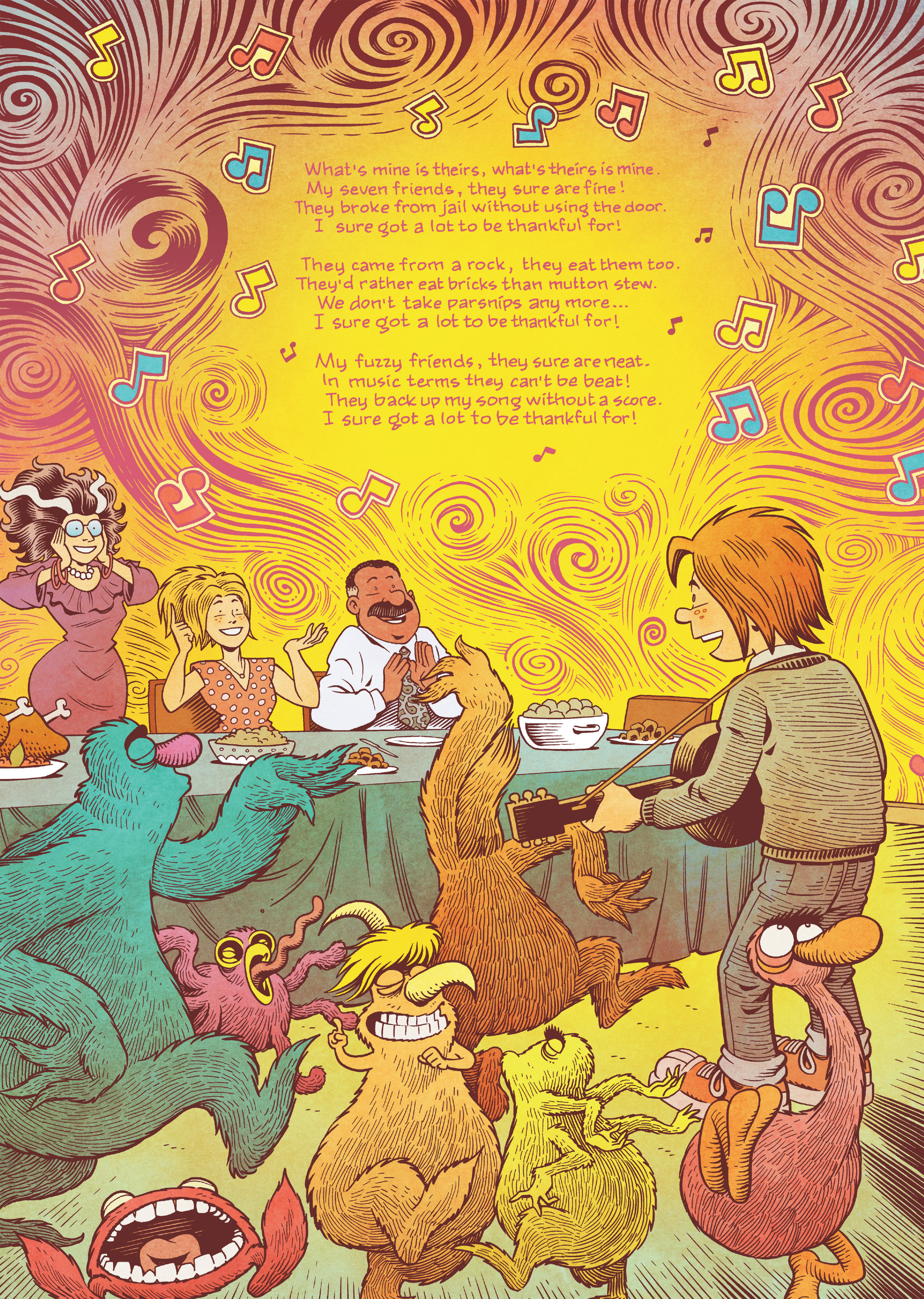 Read online Jim Henson's The Musical Monsters of Turkey Hollow comic -  Issue # Full - 79