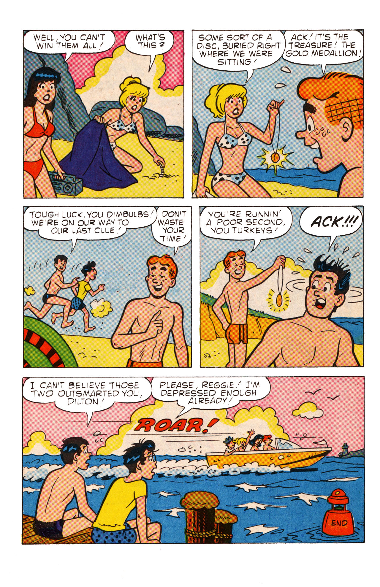 Read online Archie (1960) comic -  Issue #360 - 17