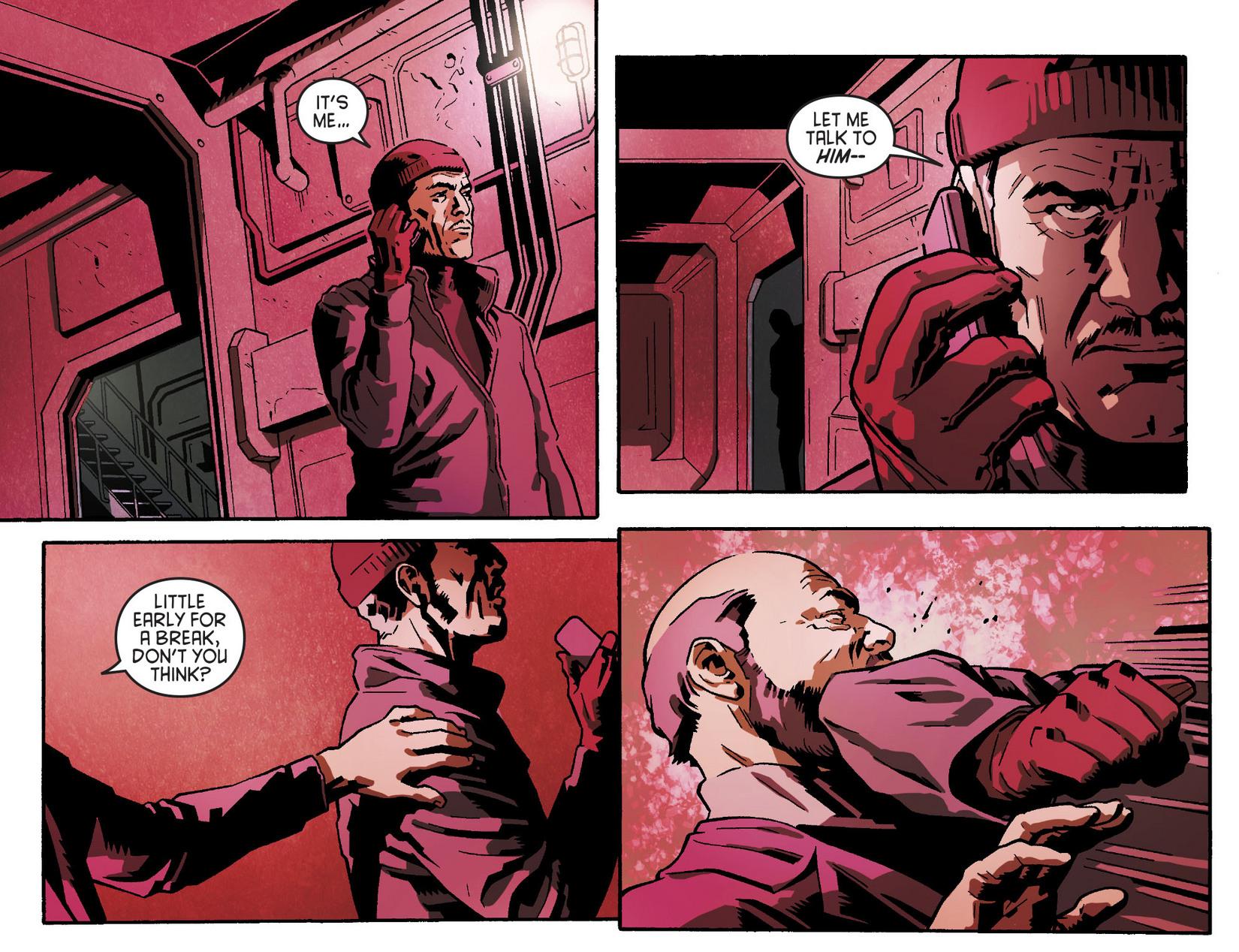 Read online Arrow [II] comic -  Issue #5 - 11