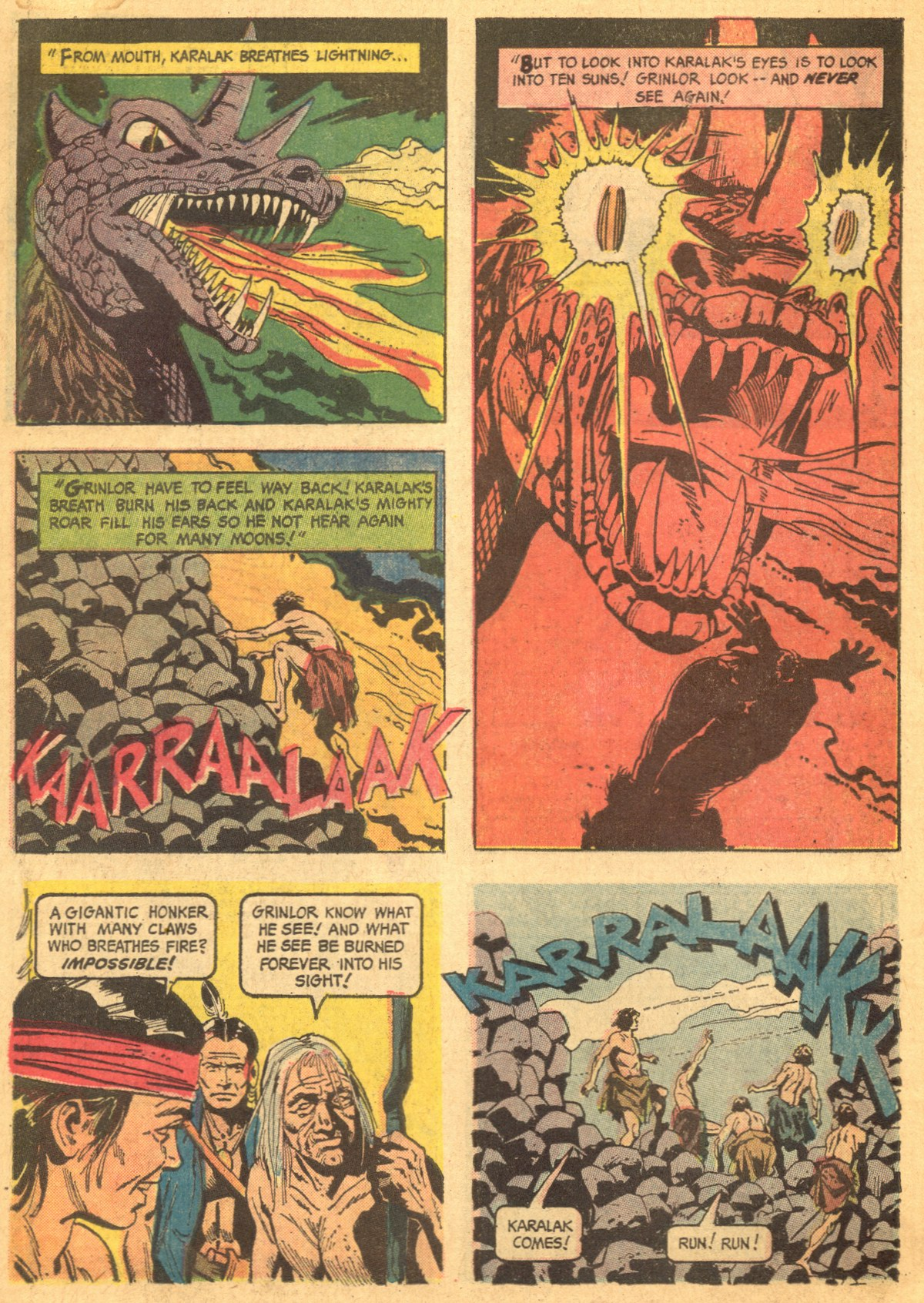Read online Turok, Son of Stone comic -  Issue #46 - 6