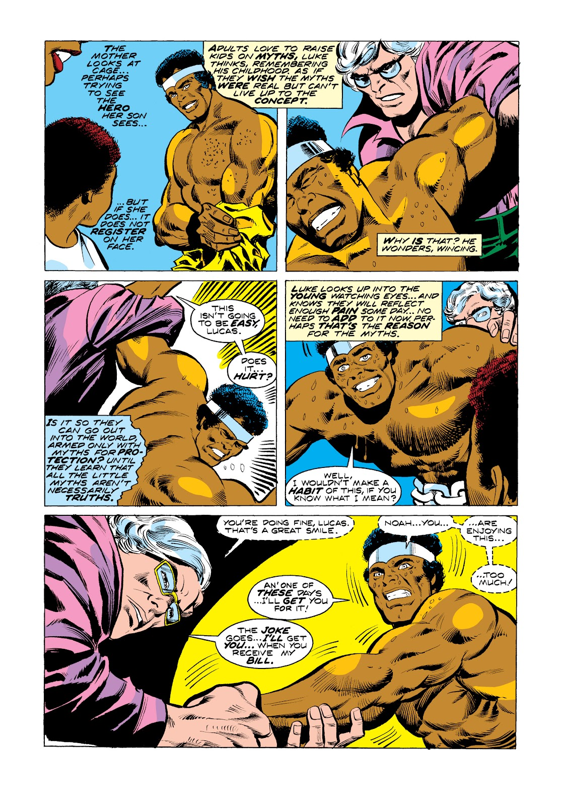 Read online Marvel Masterworks: Luke Cage, Power Man comic -  Issue # TPB 2 (Part 3) - 32