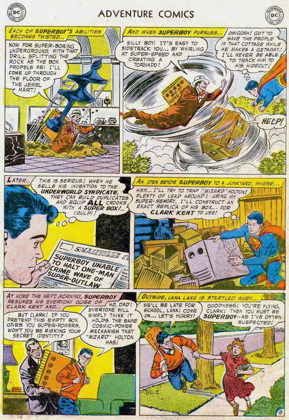 Read online Adventure Comics (1938) comic -  Issue #241 - 6
