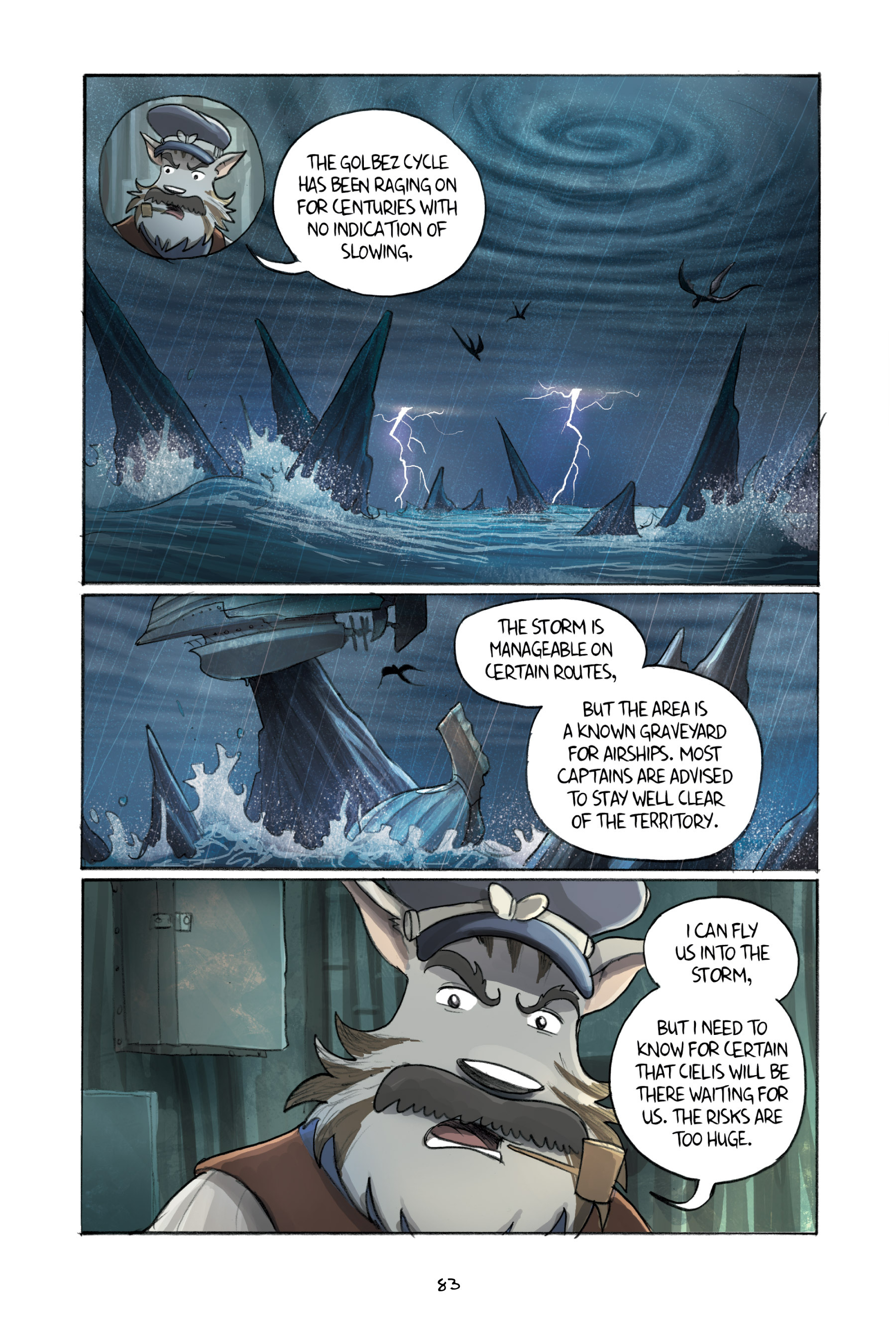 Read online Amulet comic -  Issue #3 - 81