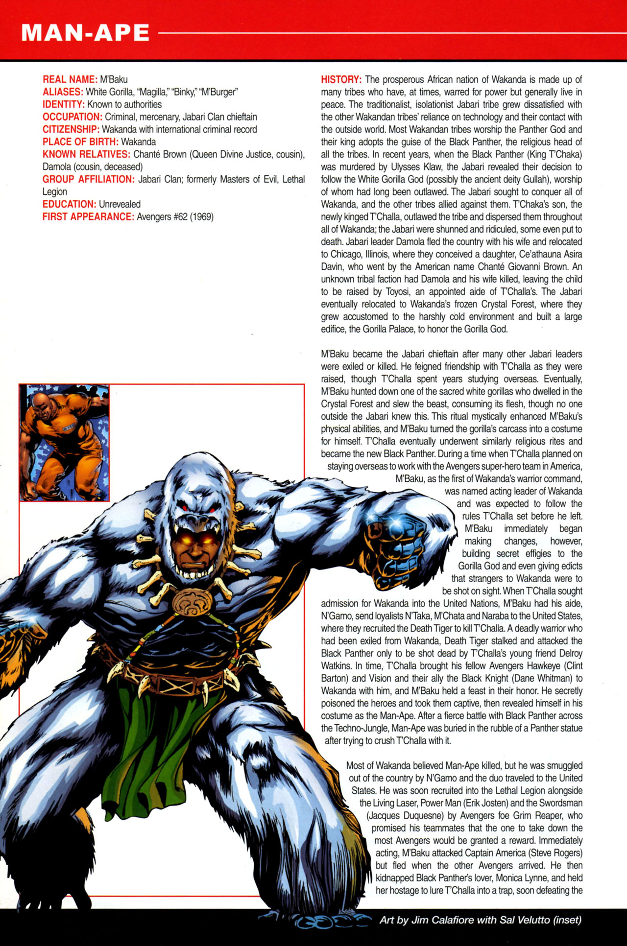 Read online All-New Official Handbook of the Marvel Universe A to Z: Update comic -  Issue #4 - 22