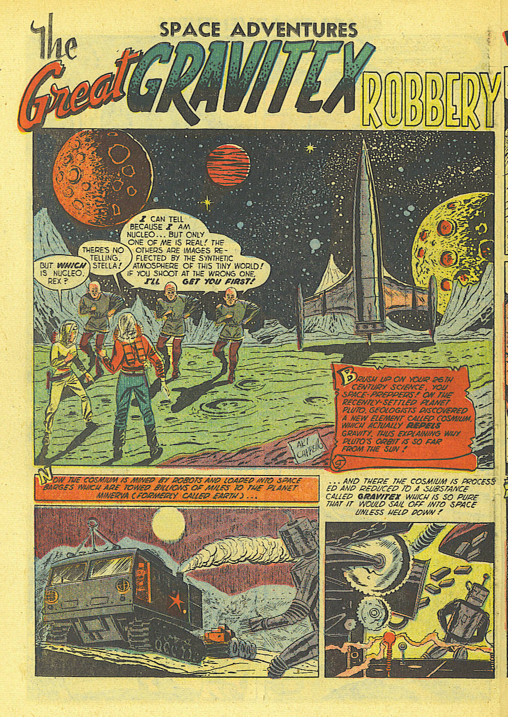 Space Adventures (1952) issue 4 - Page 19