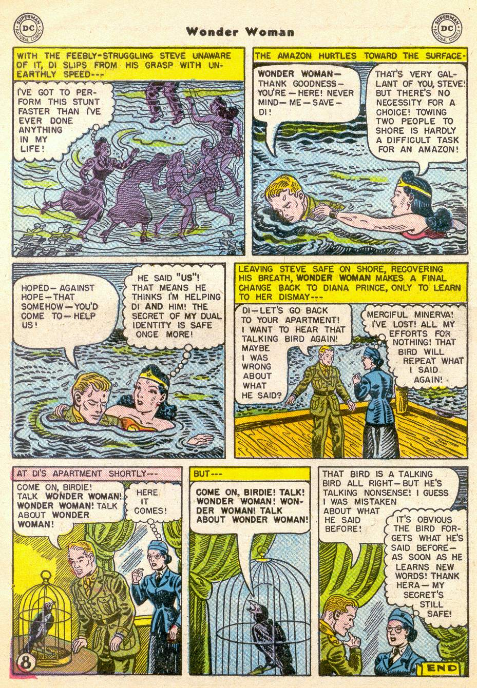 Read online Wonder Woman (1942) comic -  Issue #76 - 10