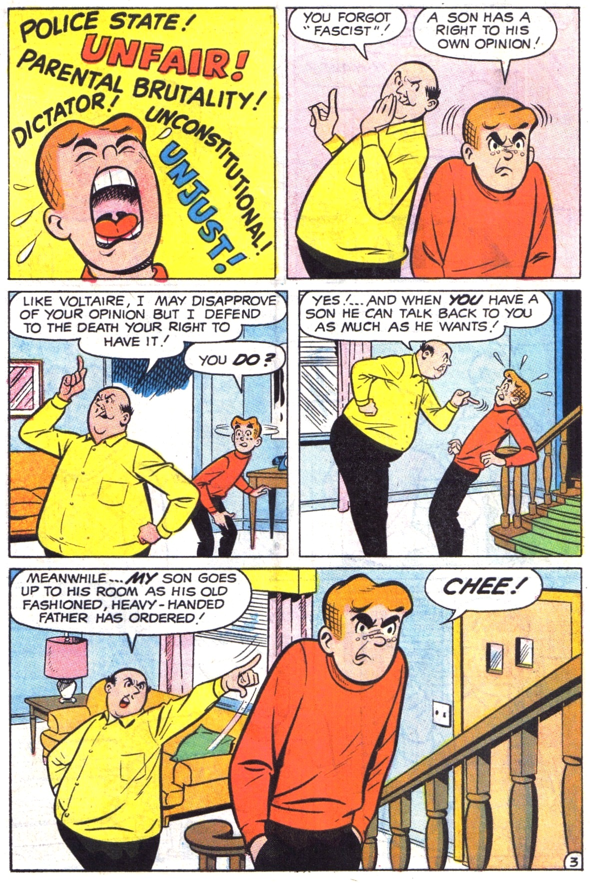 Read online Archie (1960) comic -  Issue #190 - 30