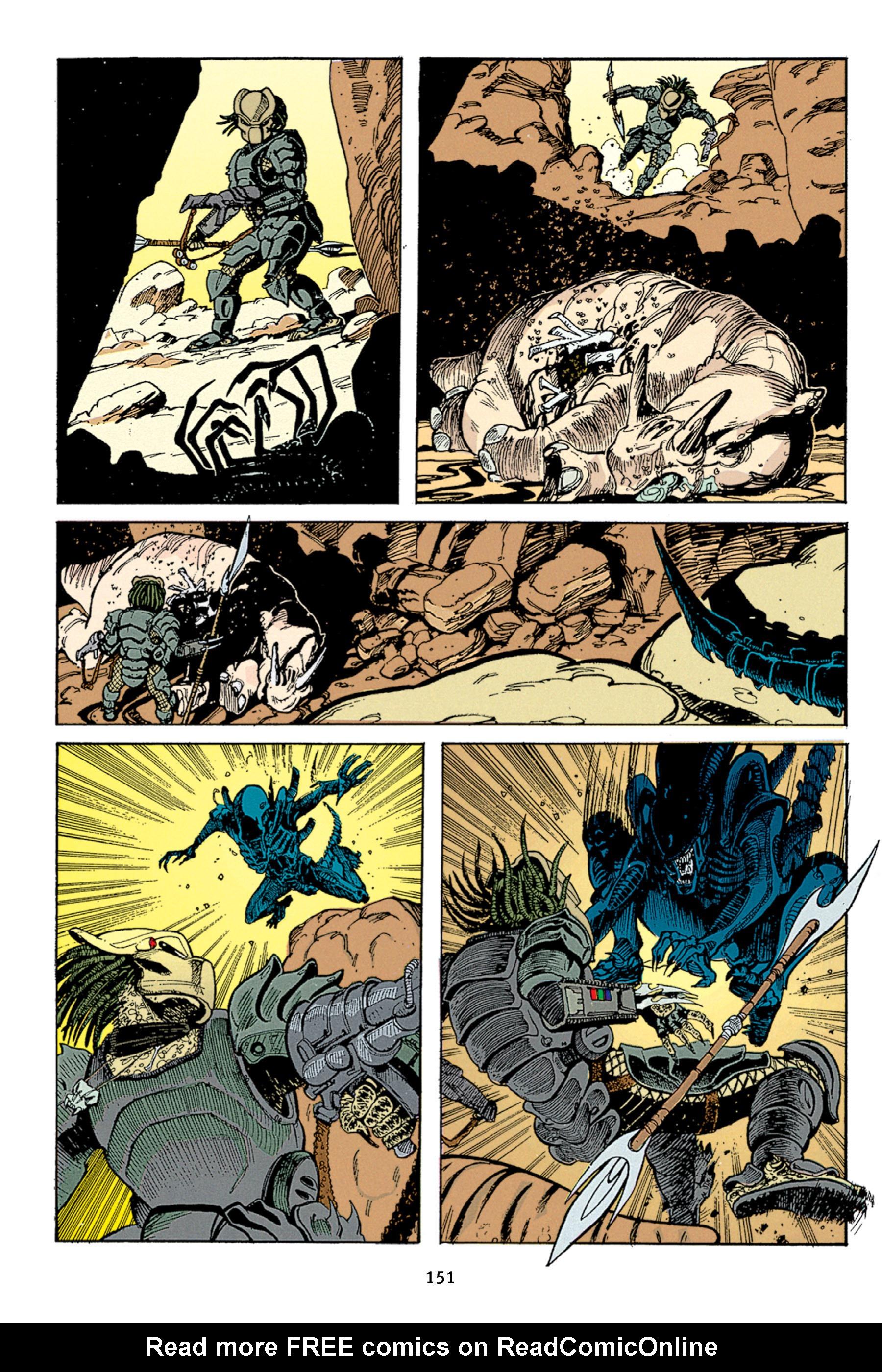 Read online Aliens vs. Predator Omnibus comic -  Issue # _TPB 1 Part 2 - 50