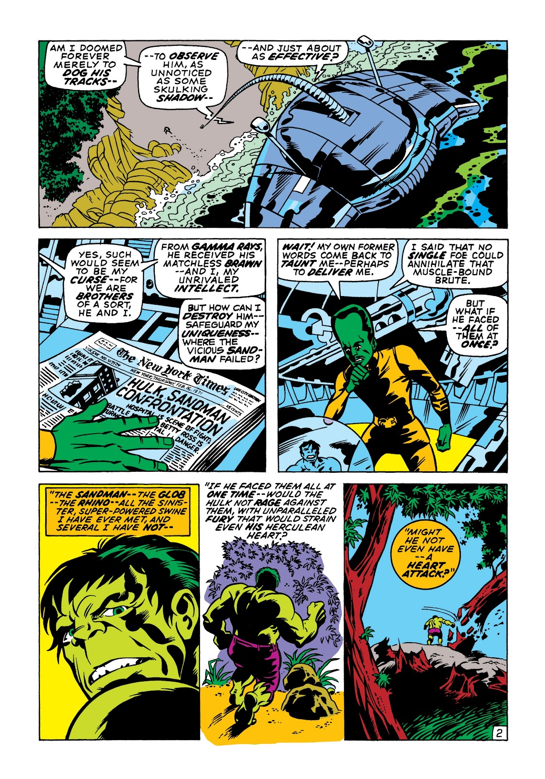 Read online Marvel Masterworks: The Incredible Hulk comic -  Issue # TPB 7 (Part 1) - 89