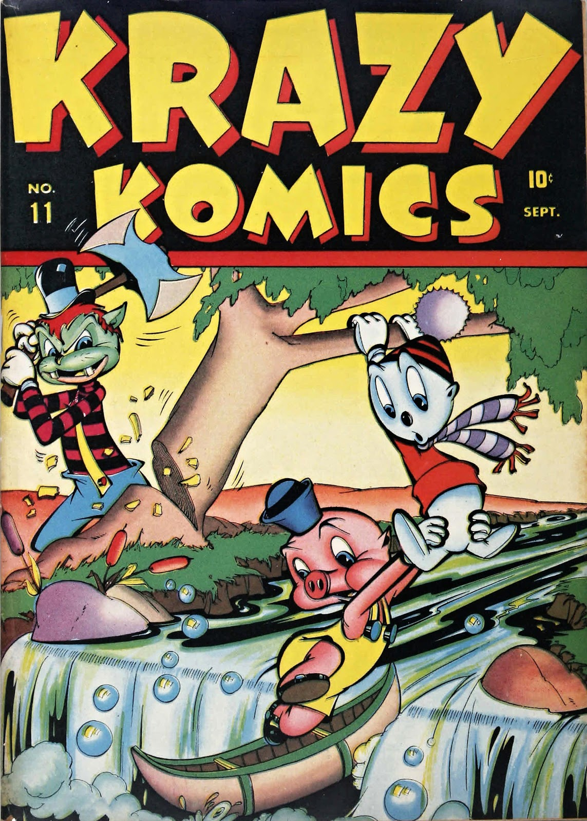Krazy Komics issue 11 - Page 1