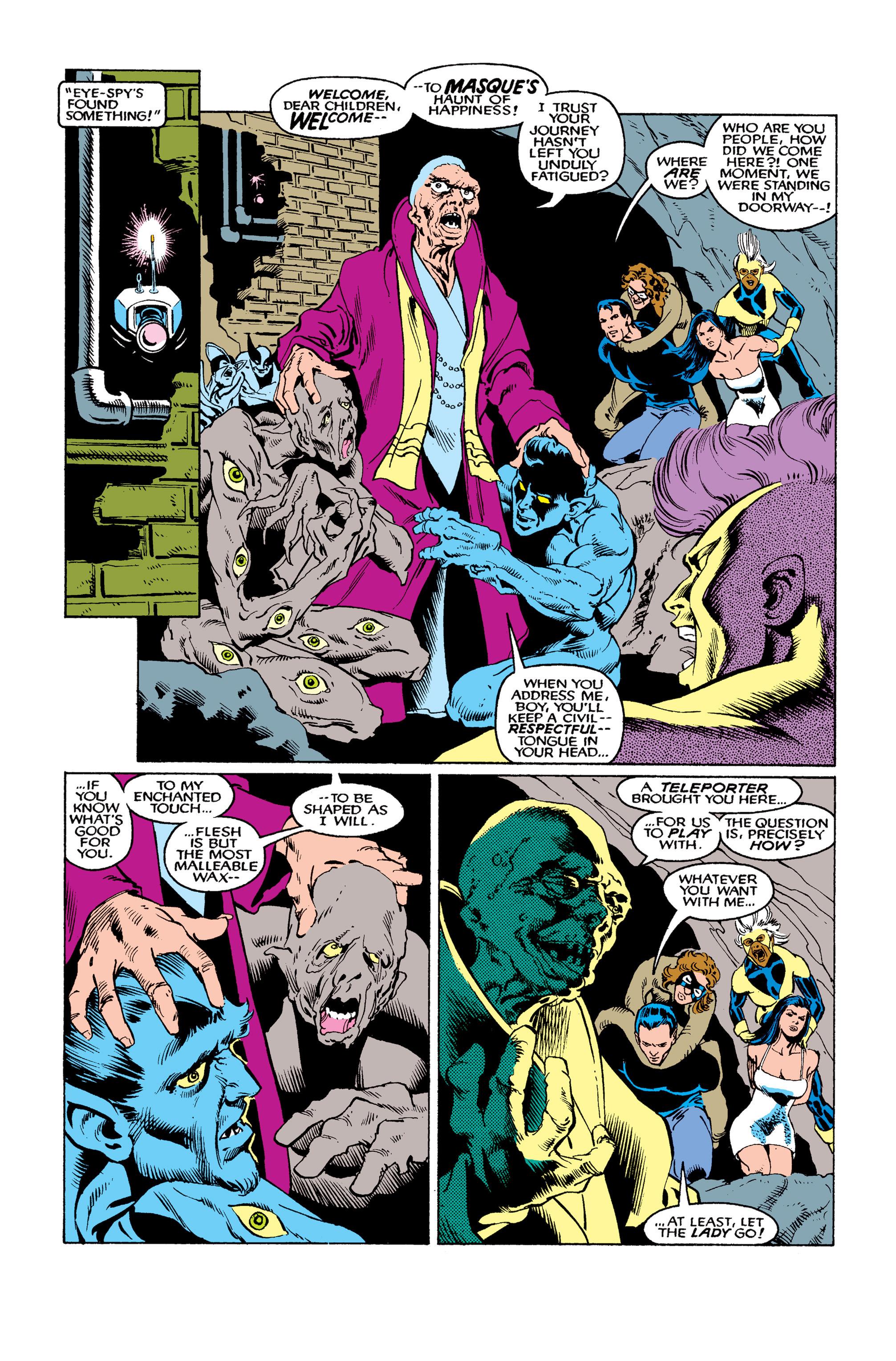 Read online Uncanny X-Men (1963) comic -  Issue #263 - 7