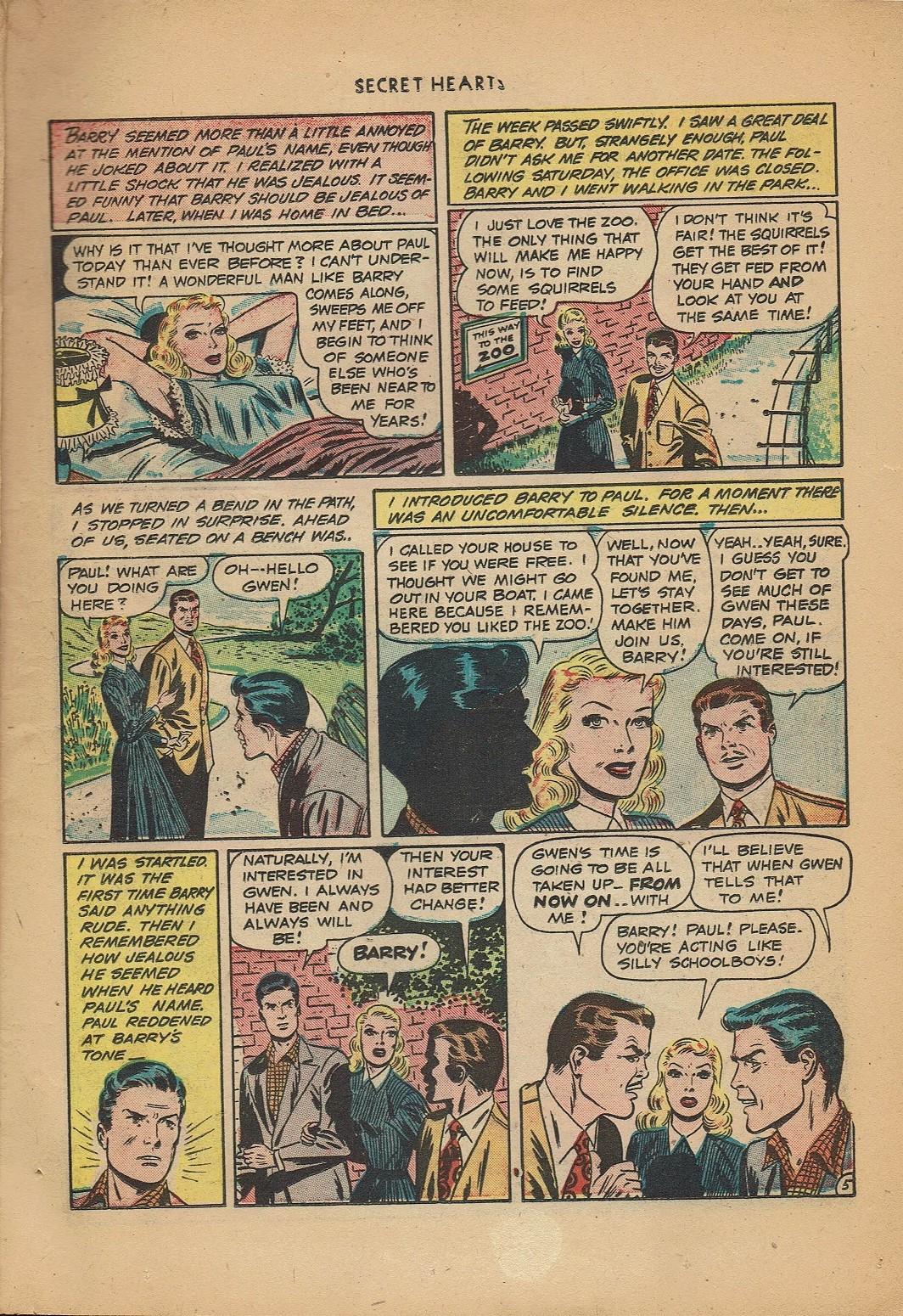 Read online Secret Hearts comic -  Issue #2 - 7