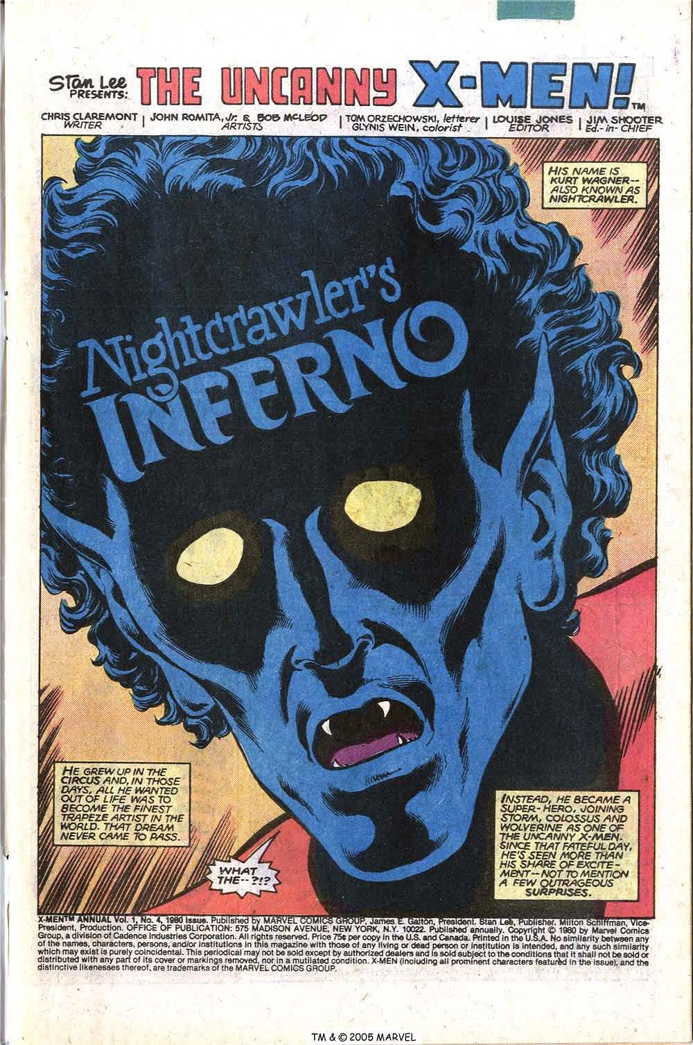 Read online Uncanny X-Men (1963) comic -  Issue # _Annual 4 - 3