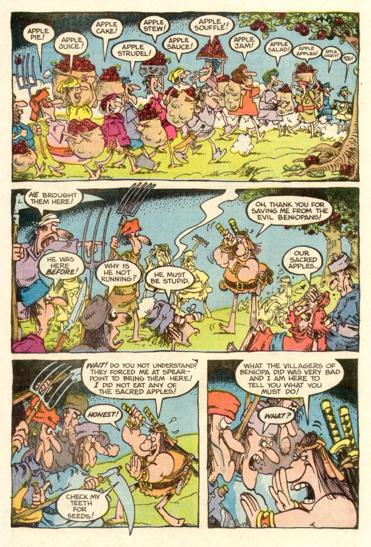 Read online Sergio Aragonés Groo the Wanderer comic -  Issue #9 - 17