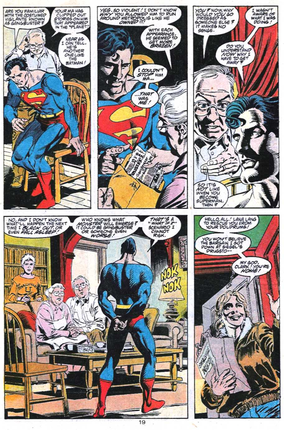 Read online Adventures of Superman (1987) comic -  Issue #450 - 20