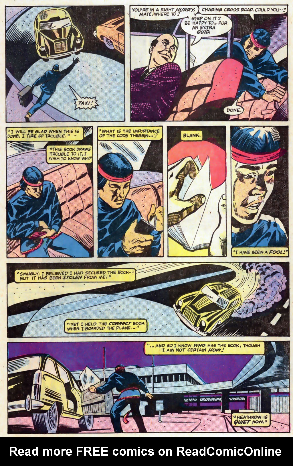 Read online Master of Kung Fu (1974) comic -  Issue #121 - 8