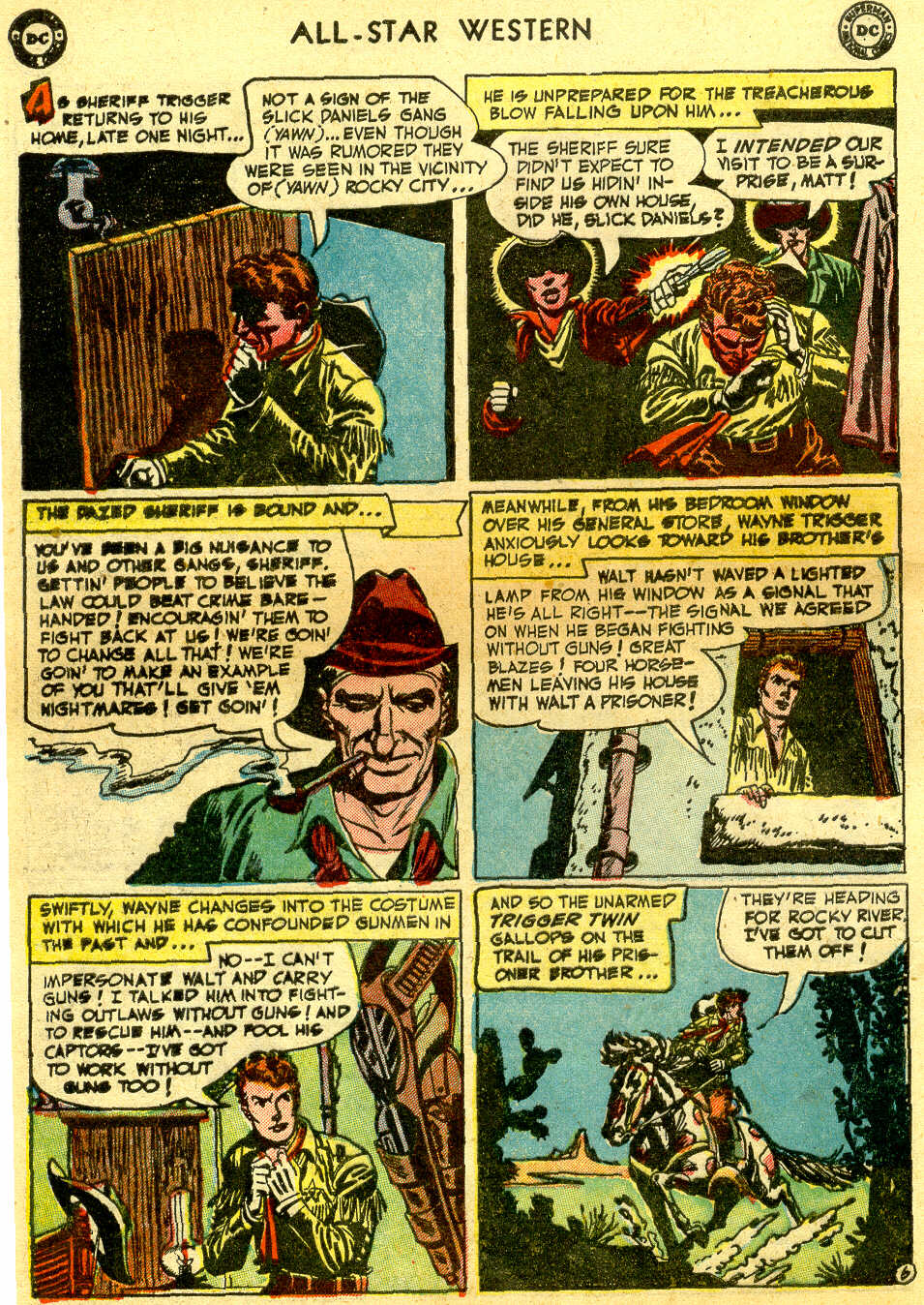 Read online All-Star Western (1951) comic -  Issue #64 - 8
