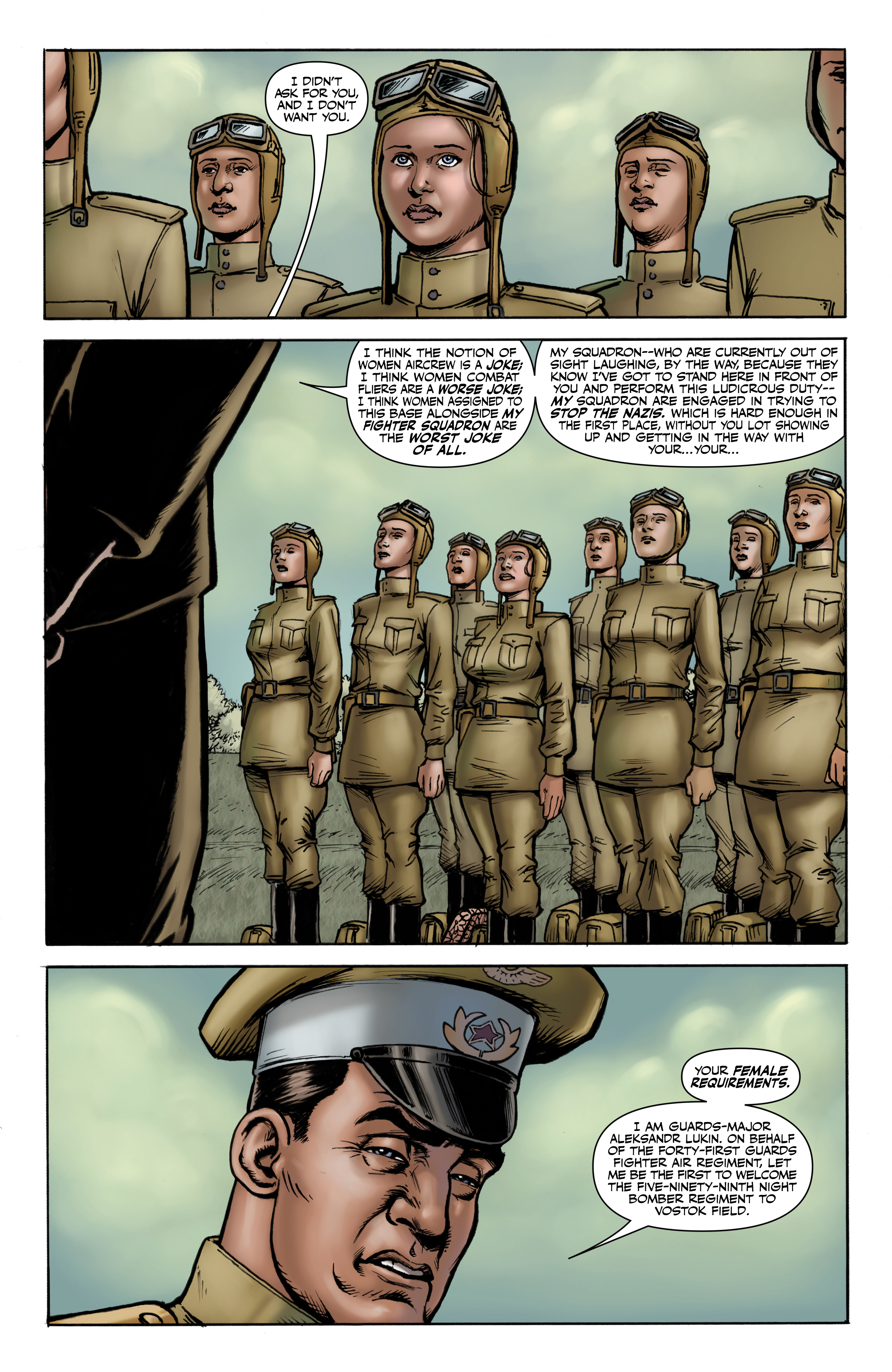 Read online Battlefields: Night Witches comic -  Issue # TPB - 8