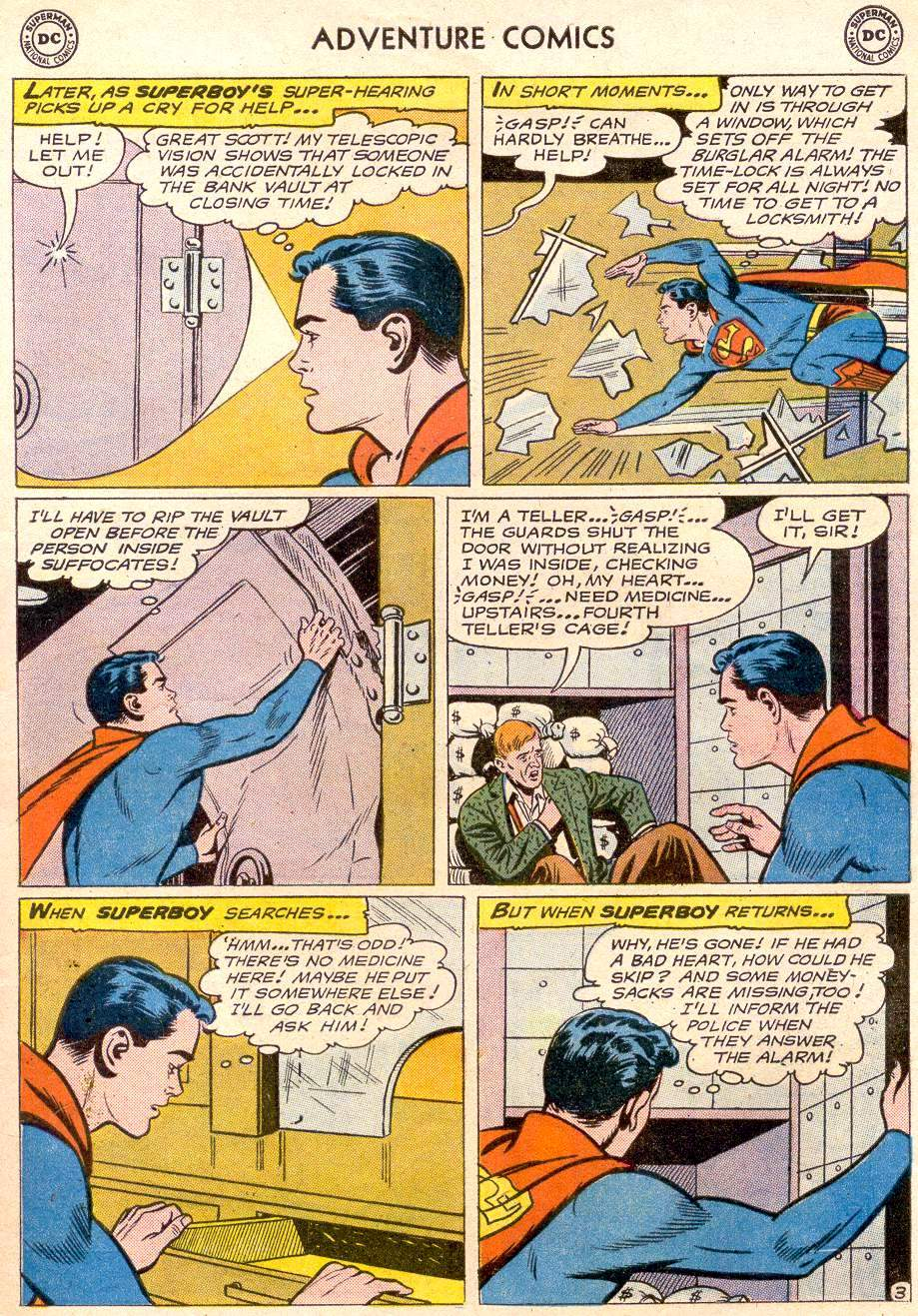 Read online Adventure Comics (1938) comic -  Issue #256 - 5