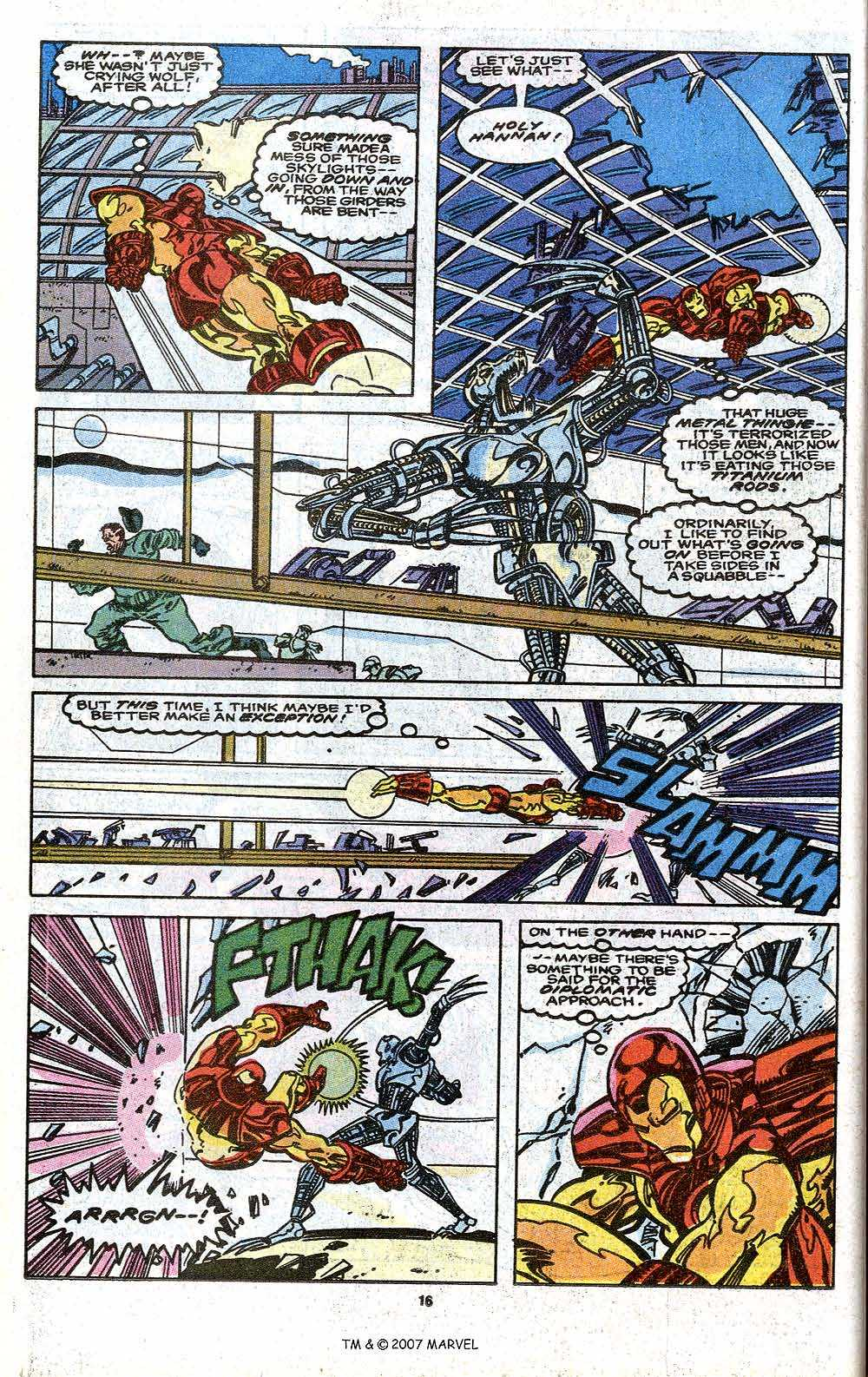Iron Man Annual issue 11 - Page 18