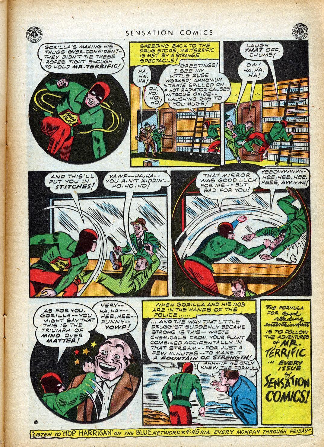 Read online Sensation (Mystery) Comics comic -  Issue #40 - 37